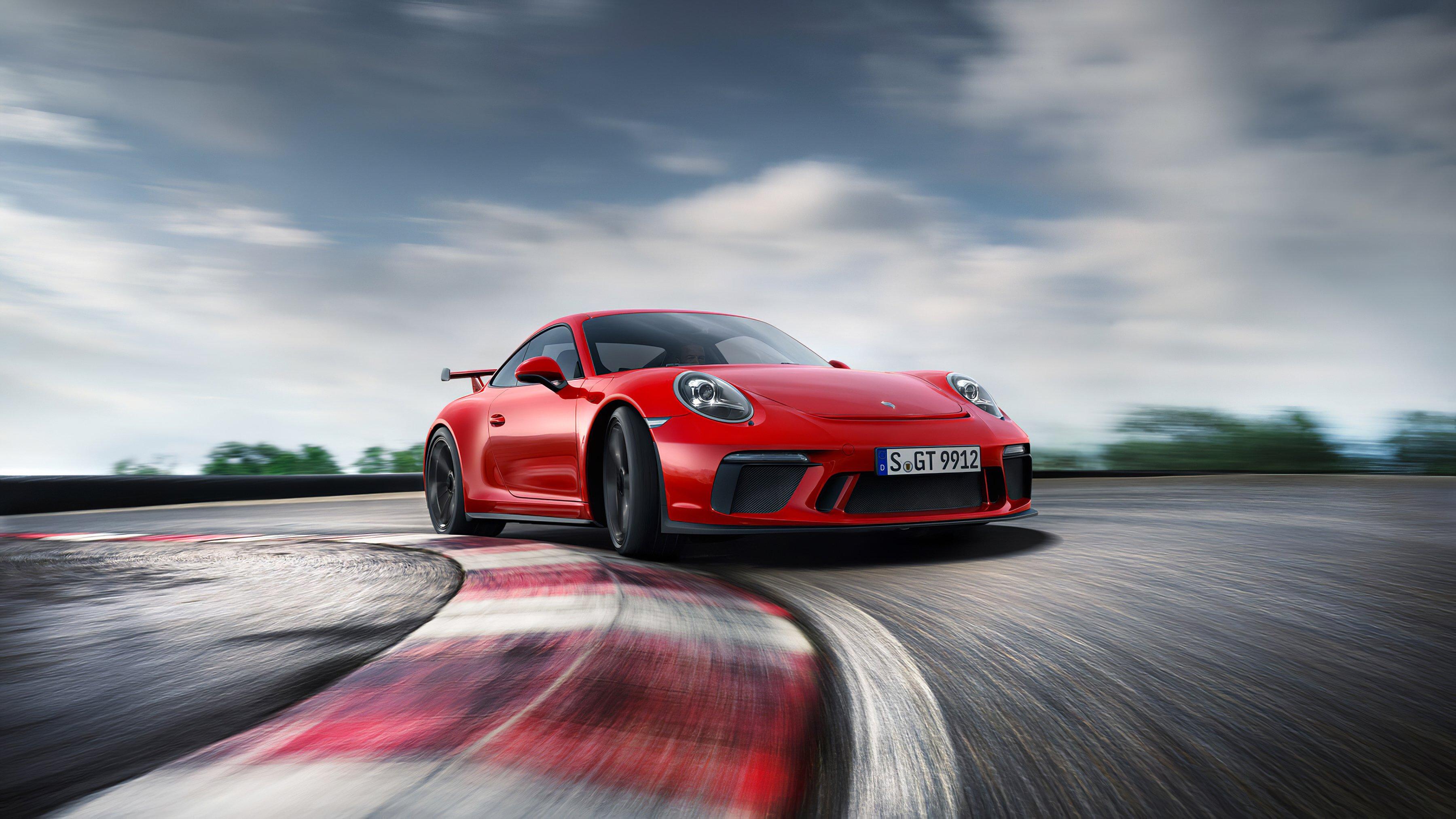 Wallpaper Red Porsche RP