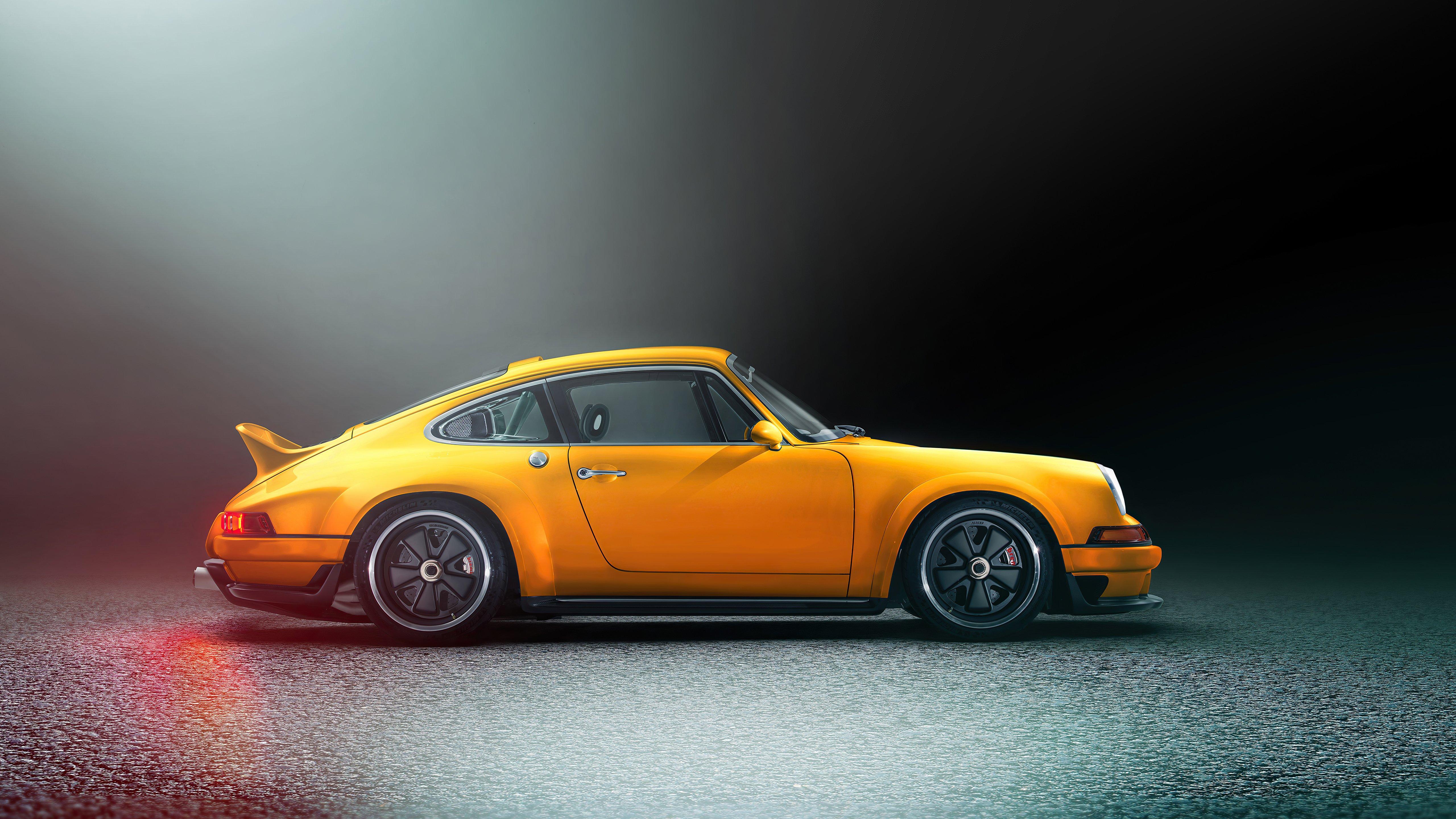 Wallpaper Porsche Singer