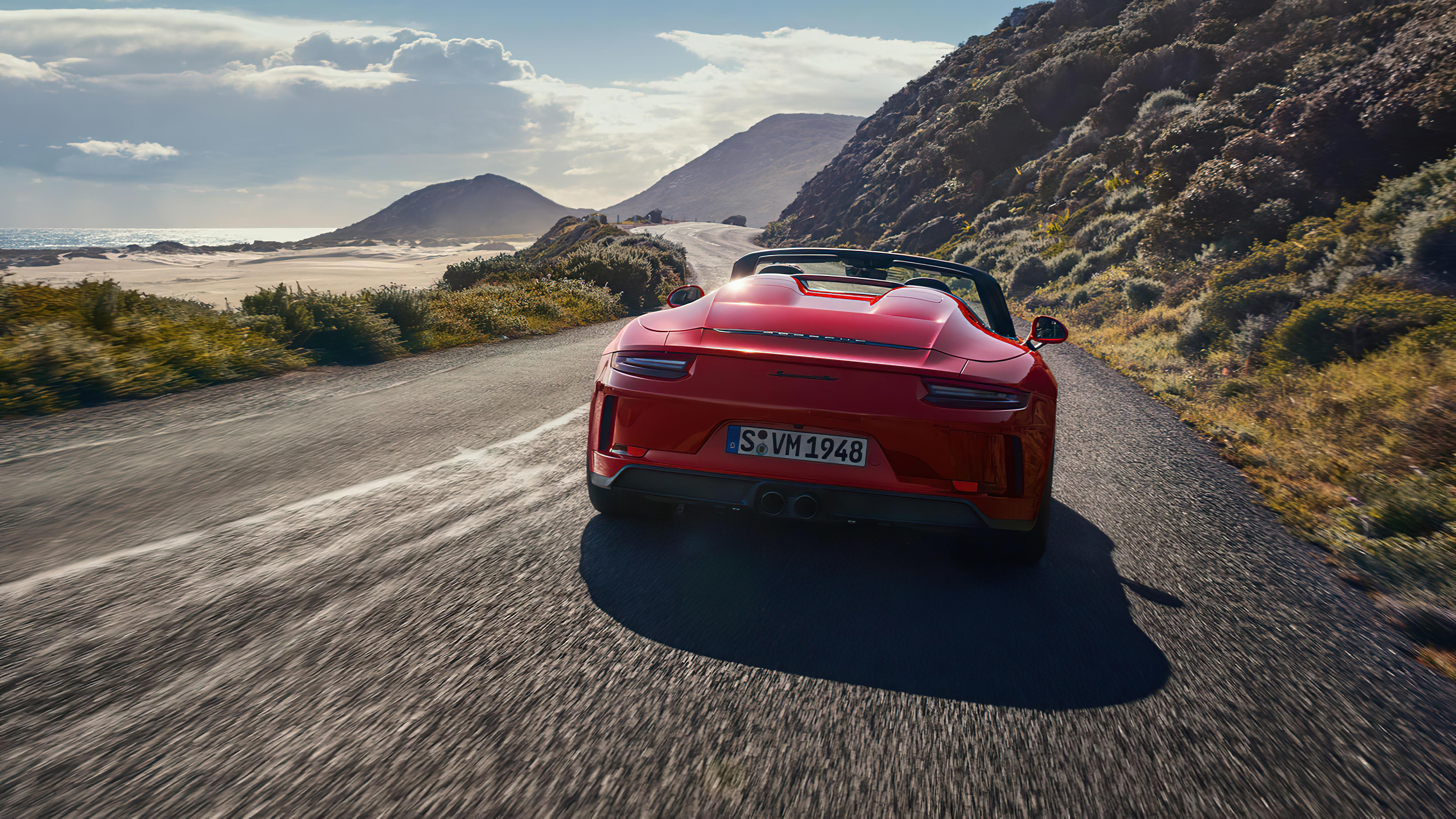 Wallpaper Porsche Speedster