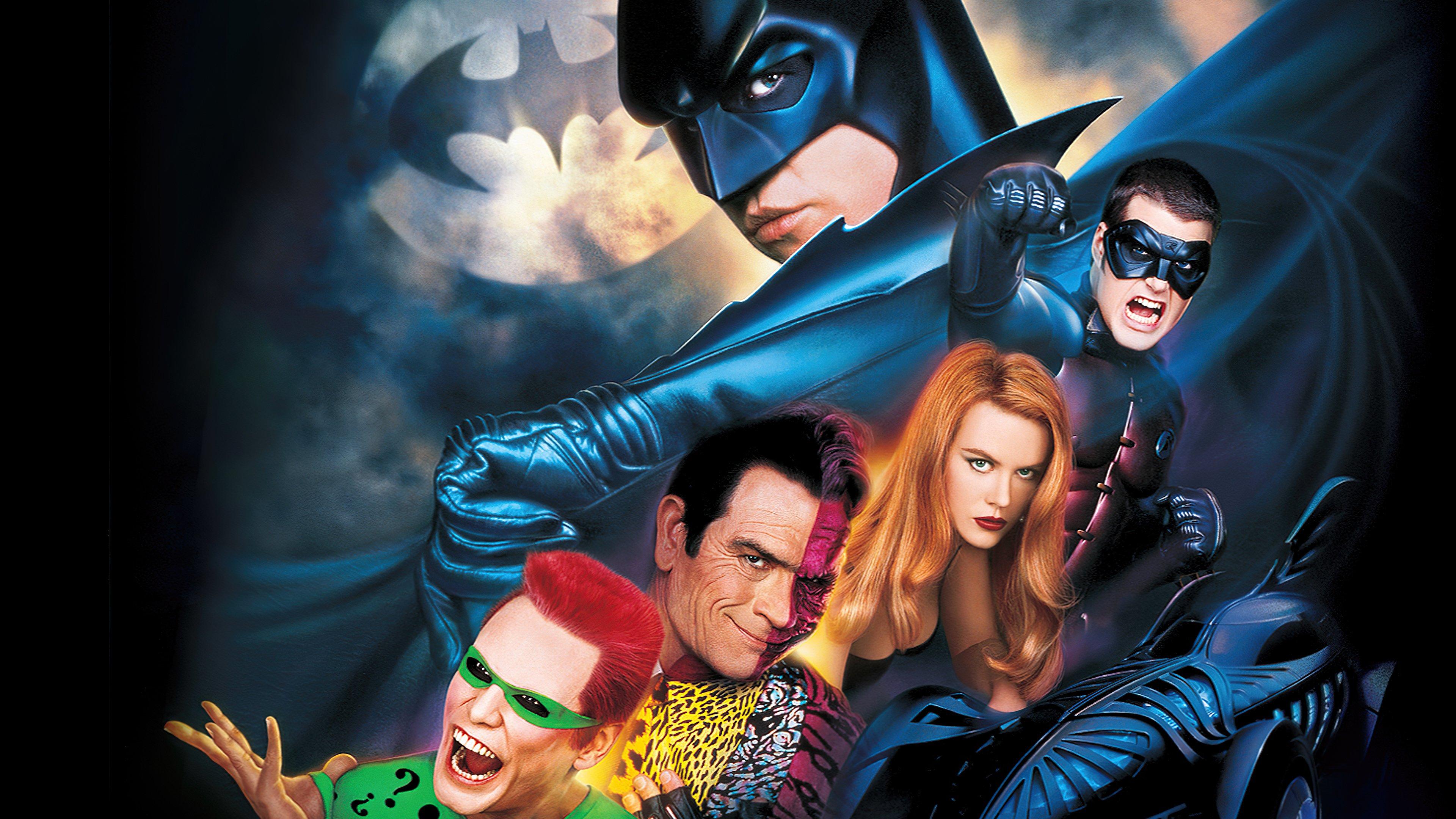 Wallpaper Batman Forever Poster
