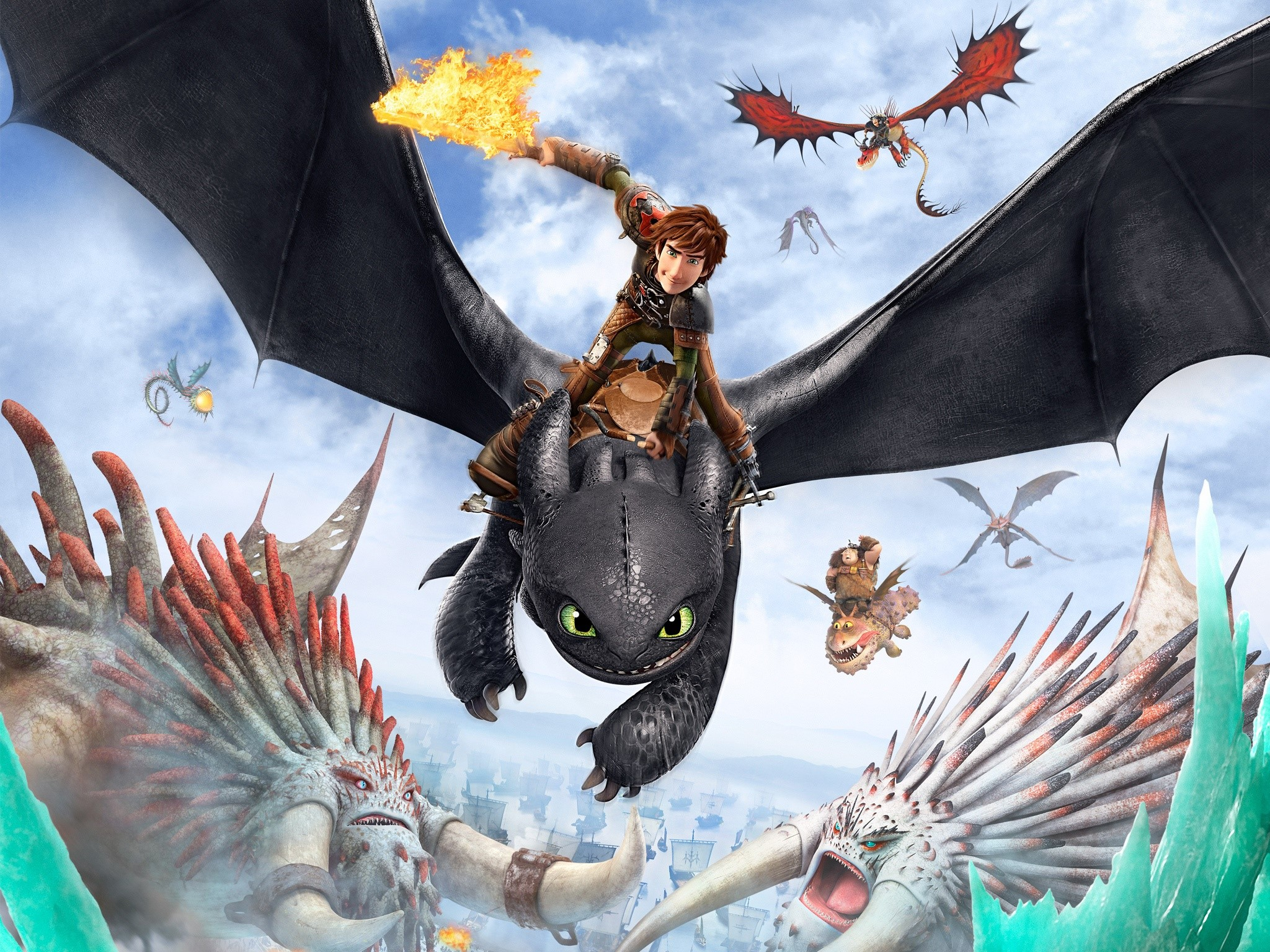 Wallpaper Poster of How to train your dragon