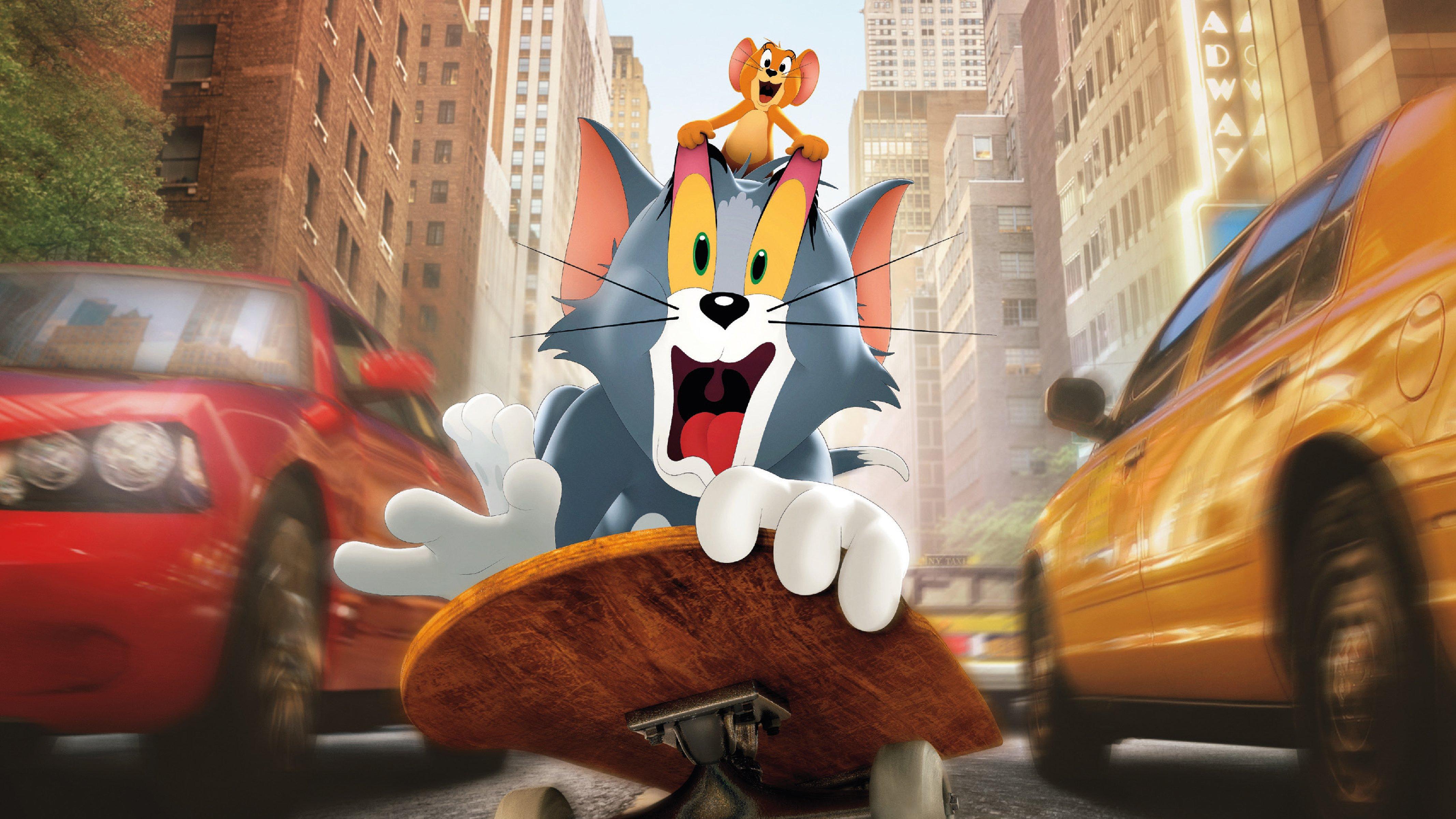 Fondos de pantalla Poster de la película Tom y Jerry