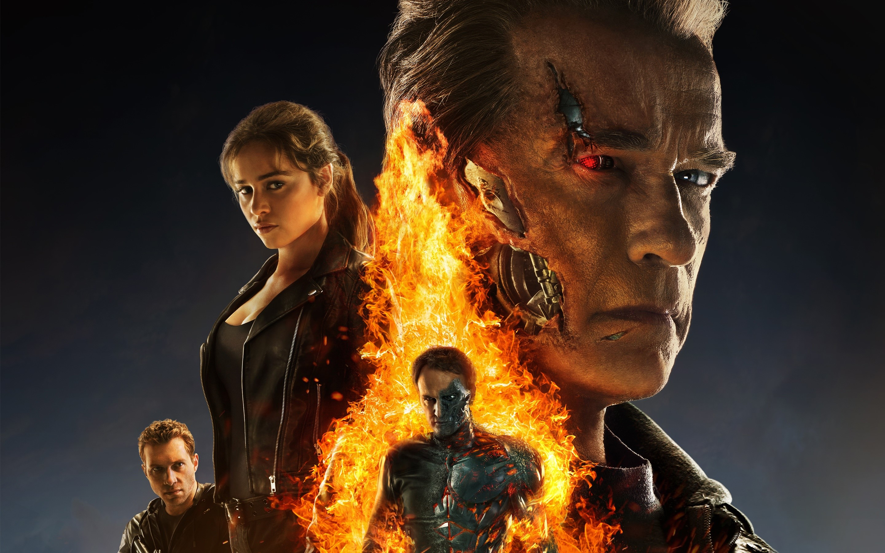 Wallpaper Poster of Terminator Genesis