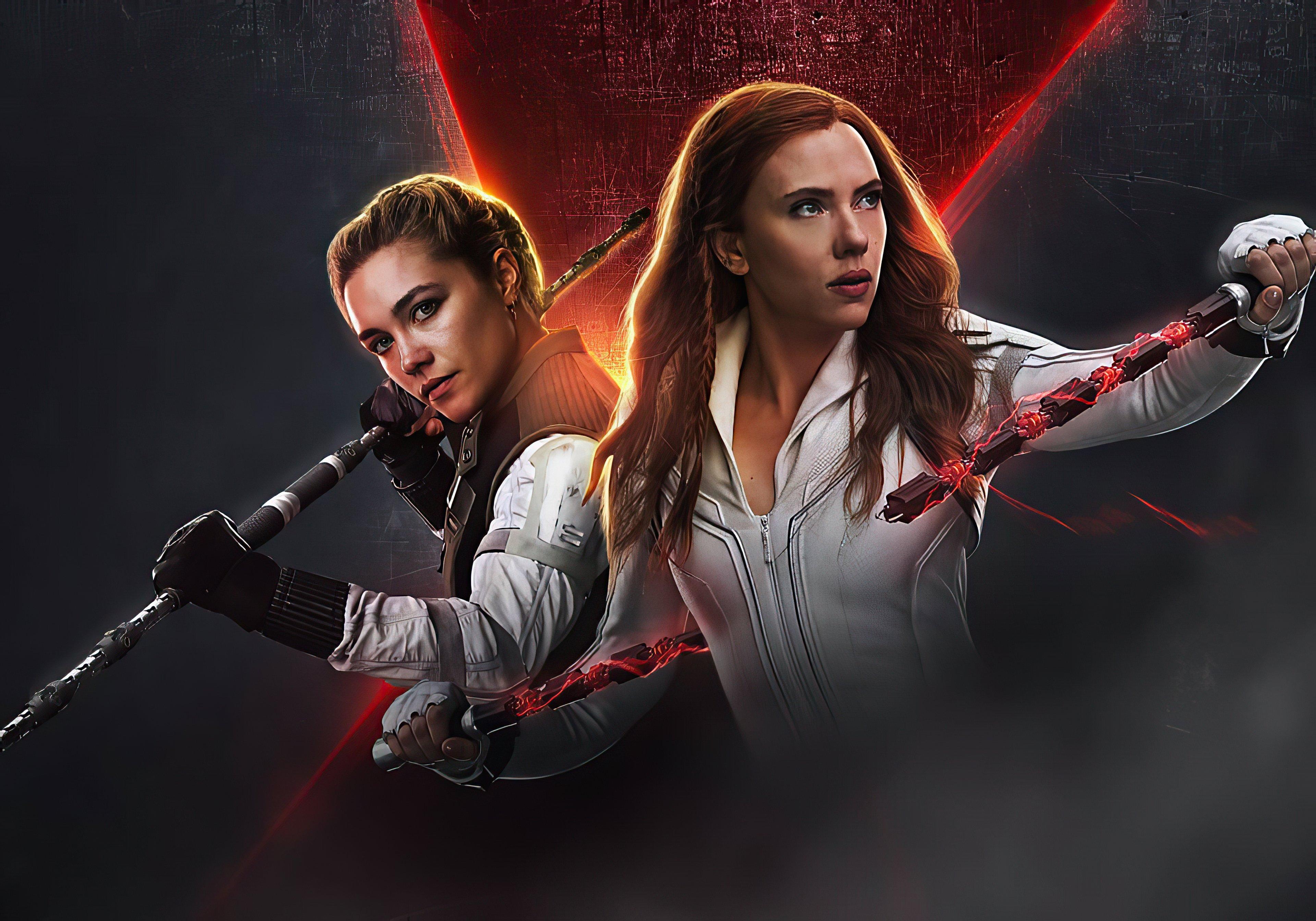 Wallpaper Black Widow Poster 2020