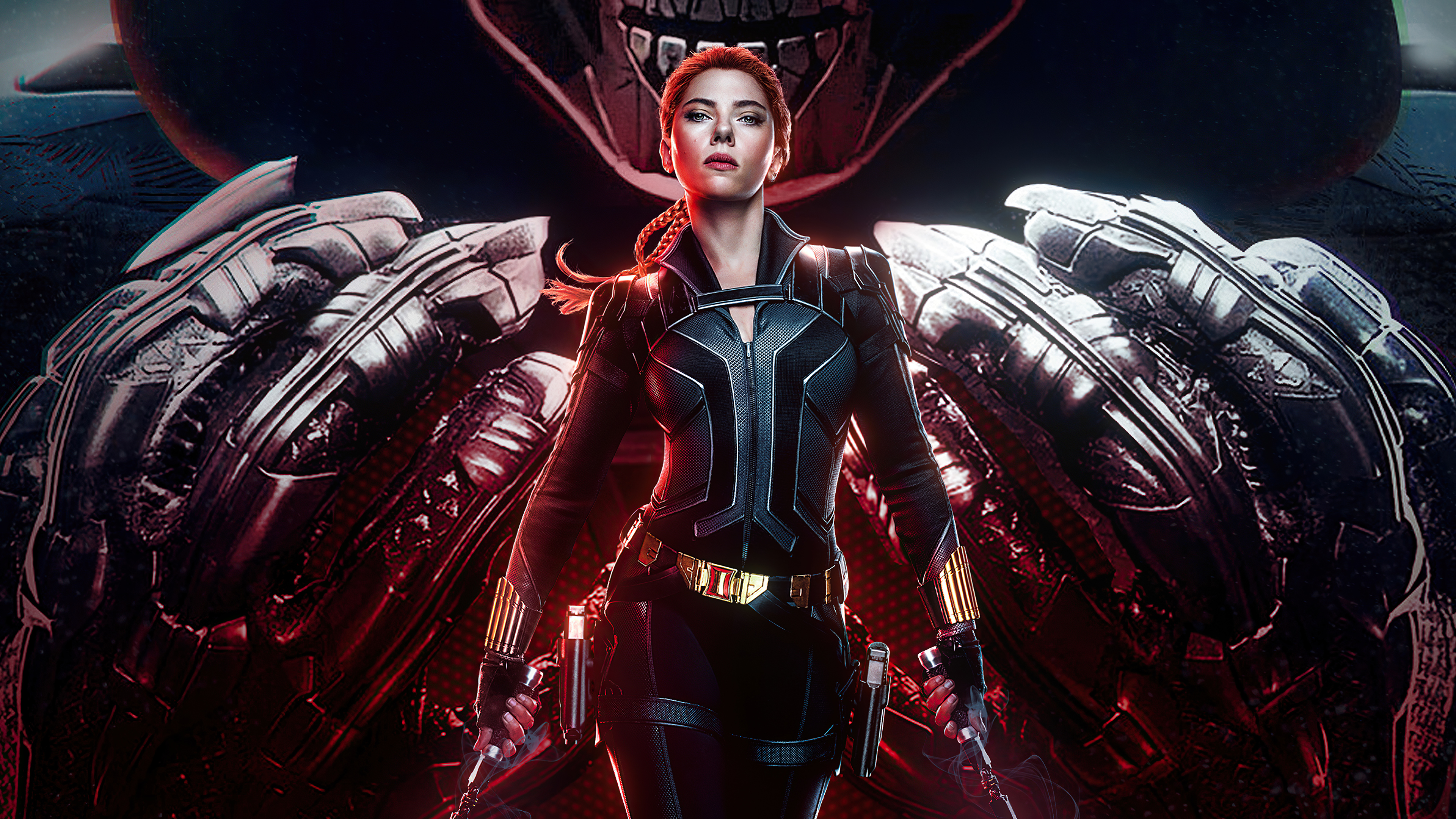 Wallpaper Black Widow Poster