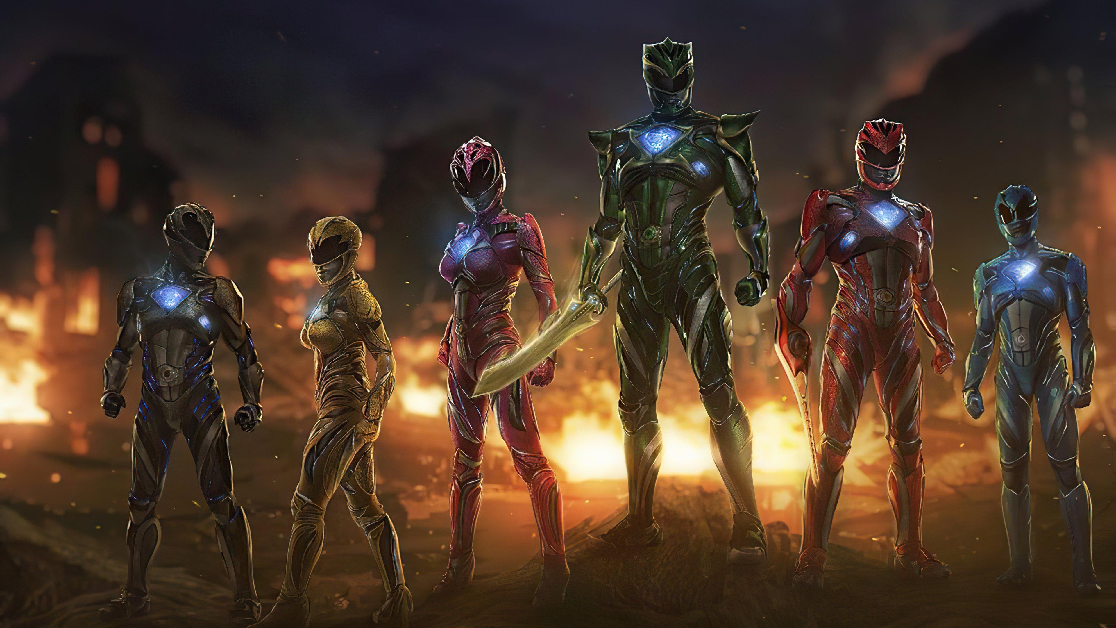 Fondos de pantalla Power Rangers