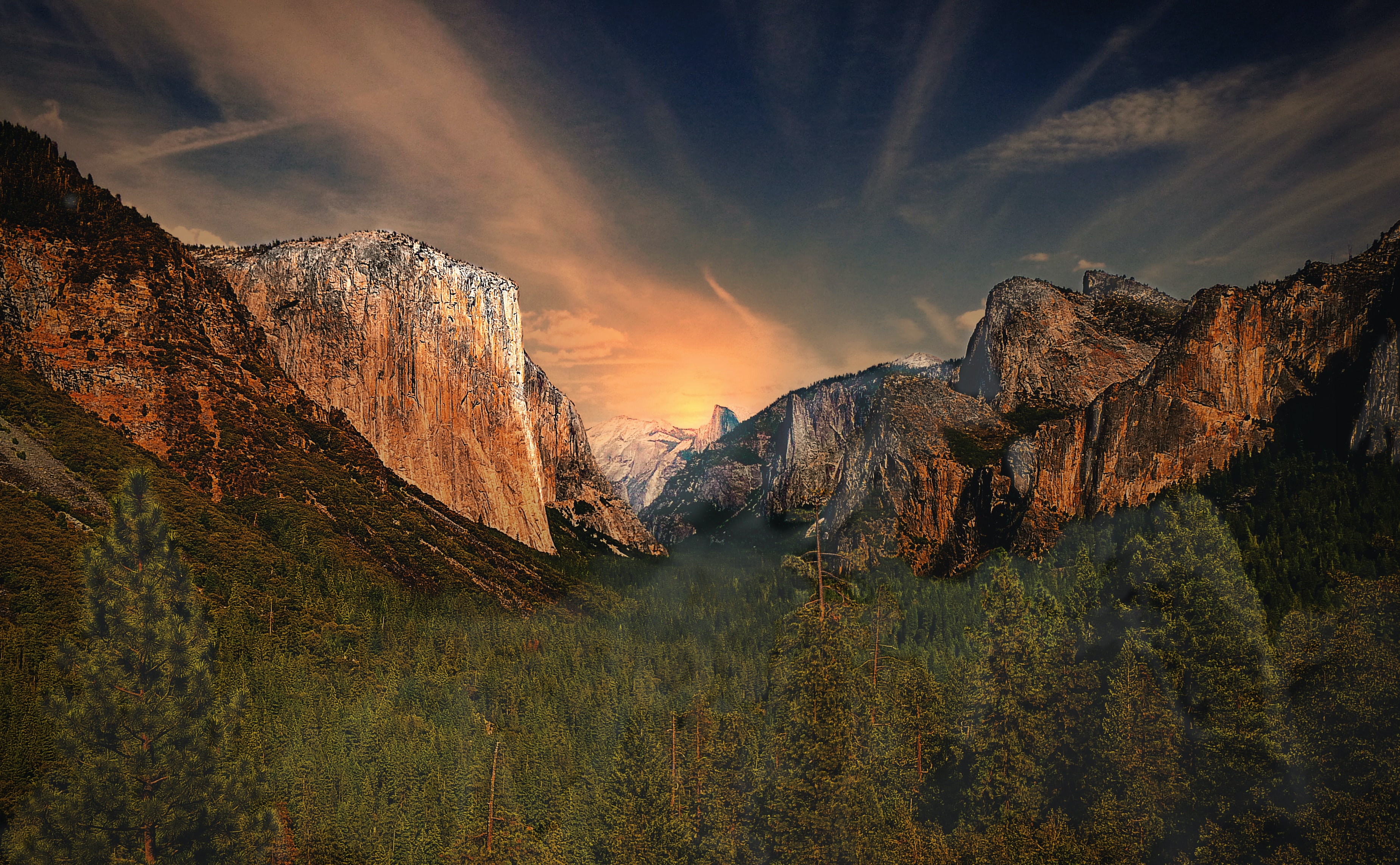 Fondos de pantalla Precioso valle Yosemite