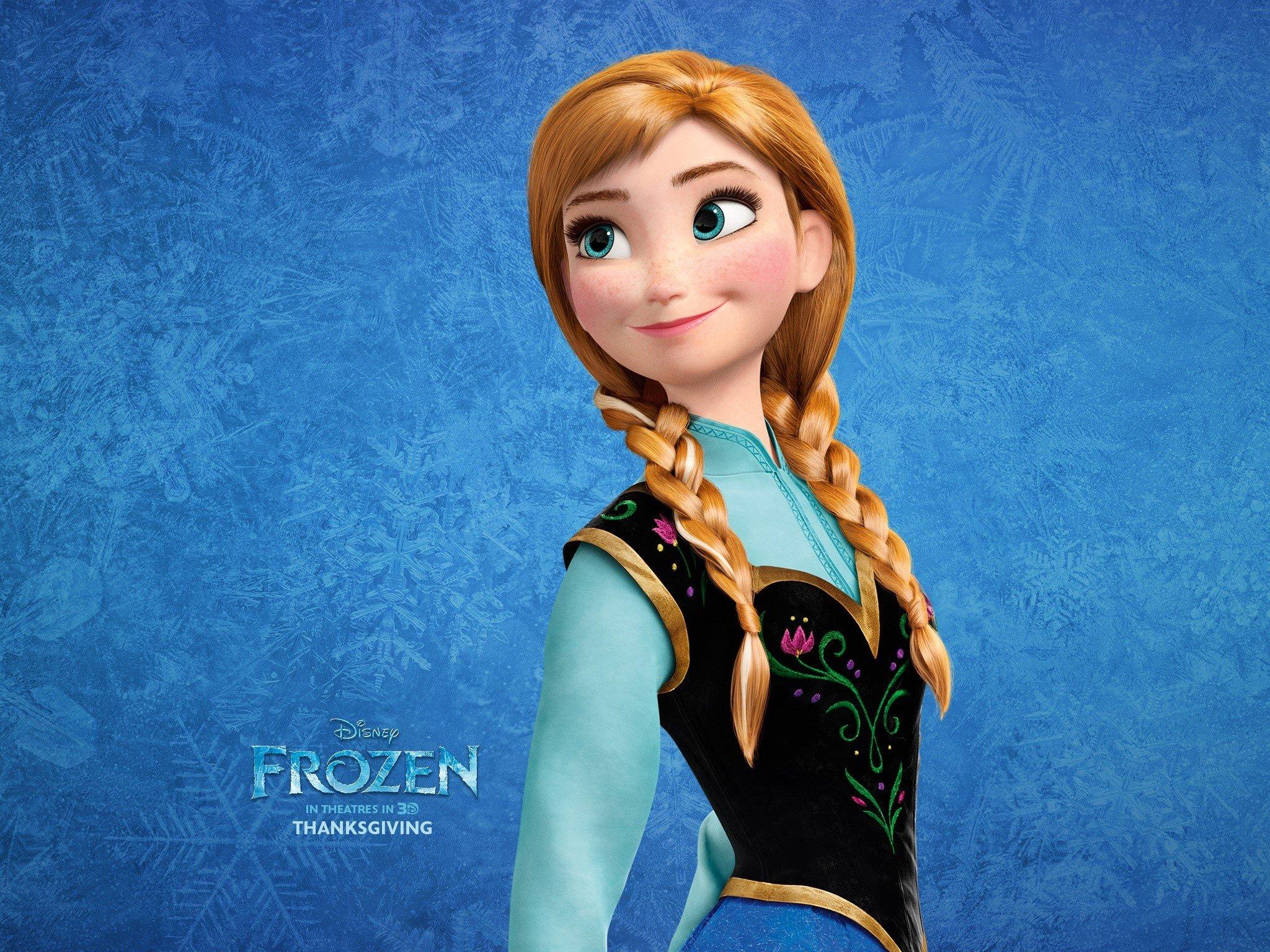 Fondos de pantalla Princesa Anna en Frozen