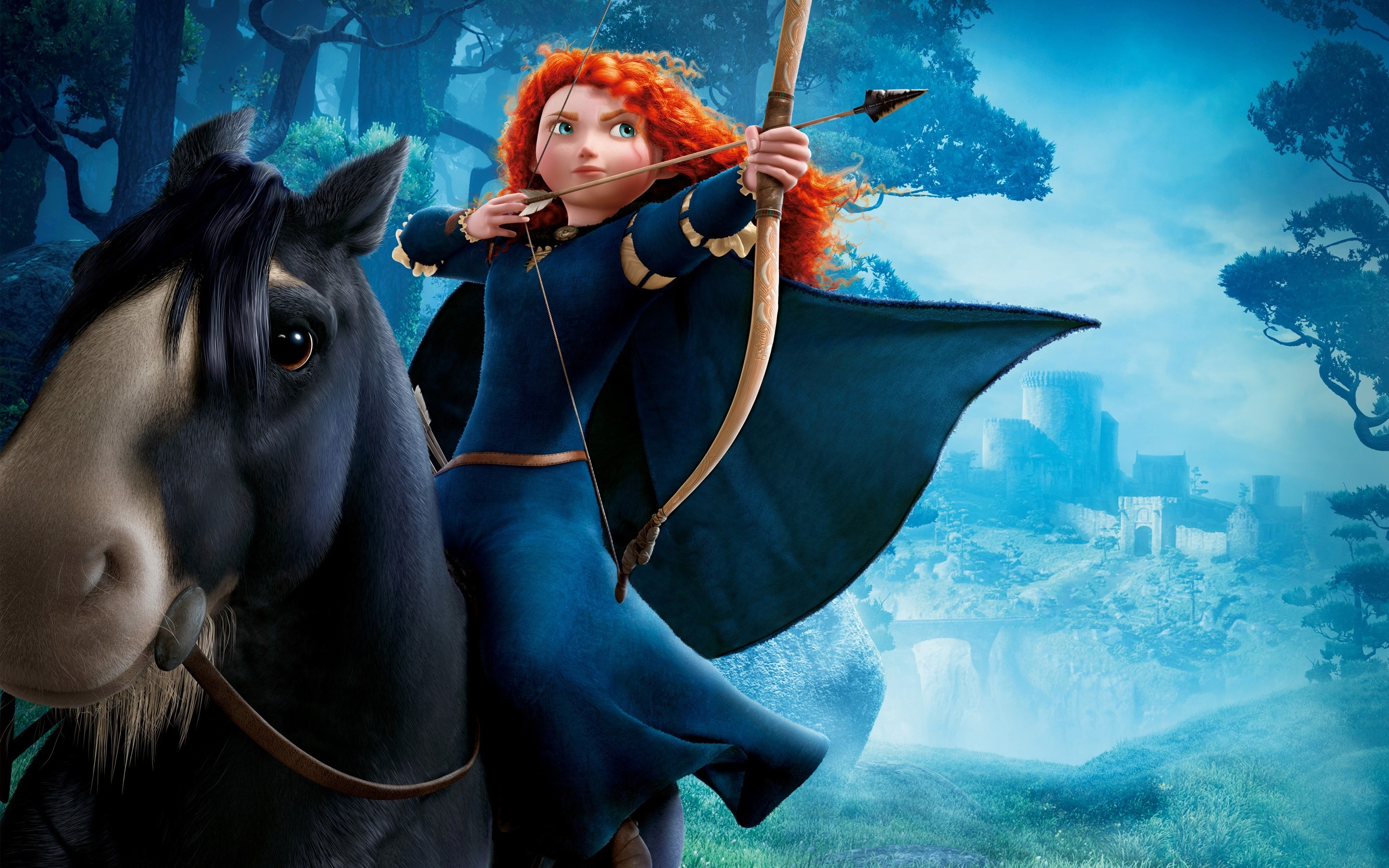 Wallpaper Princess Merida
