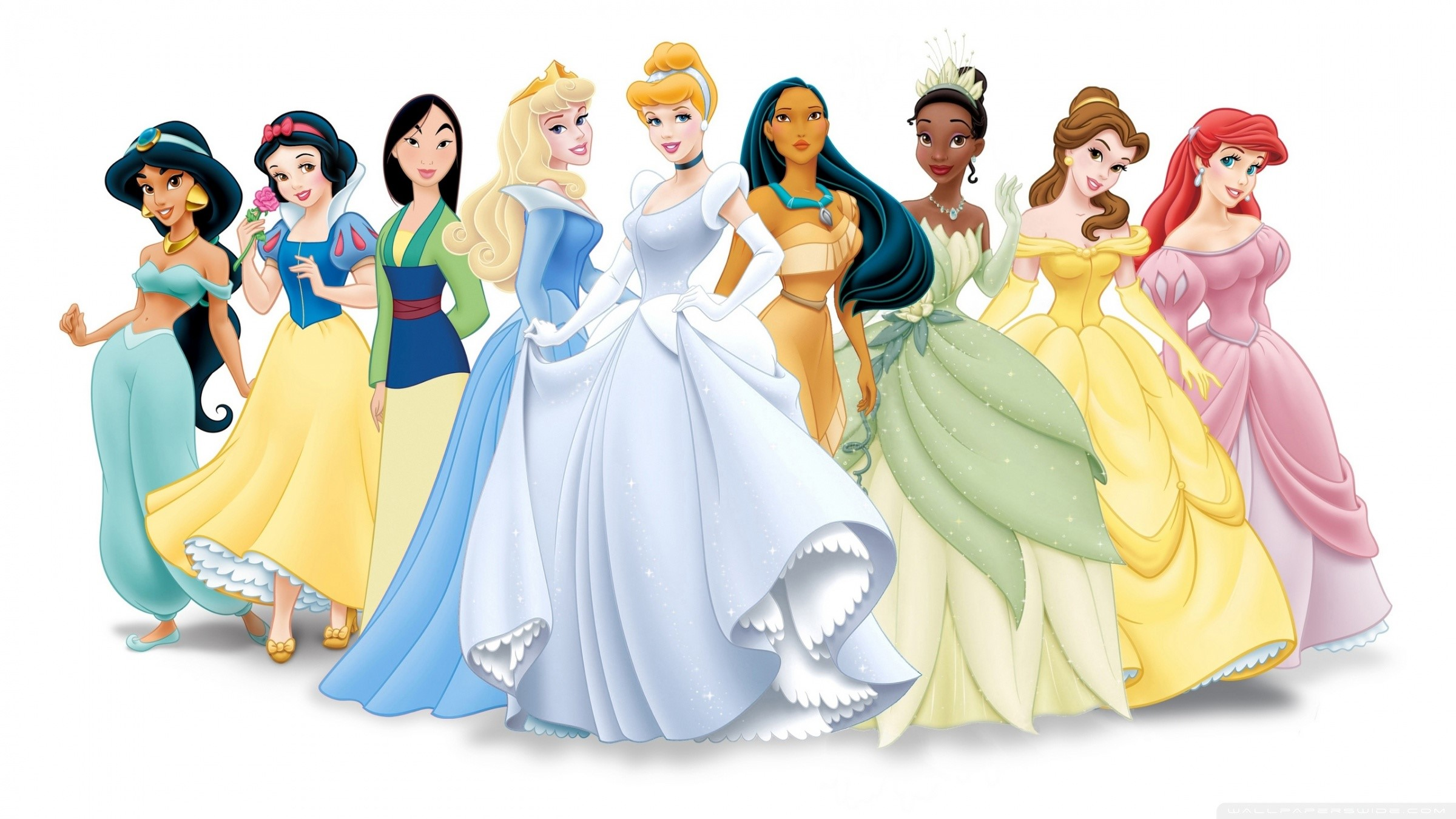 Wallpaper Disney princesses