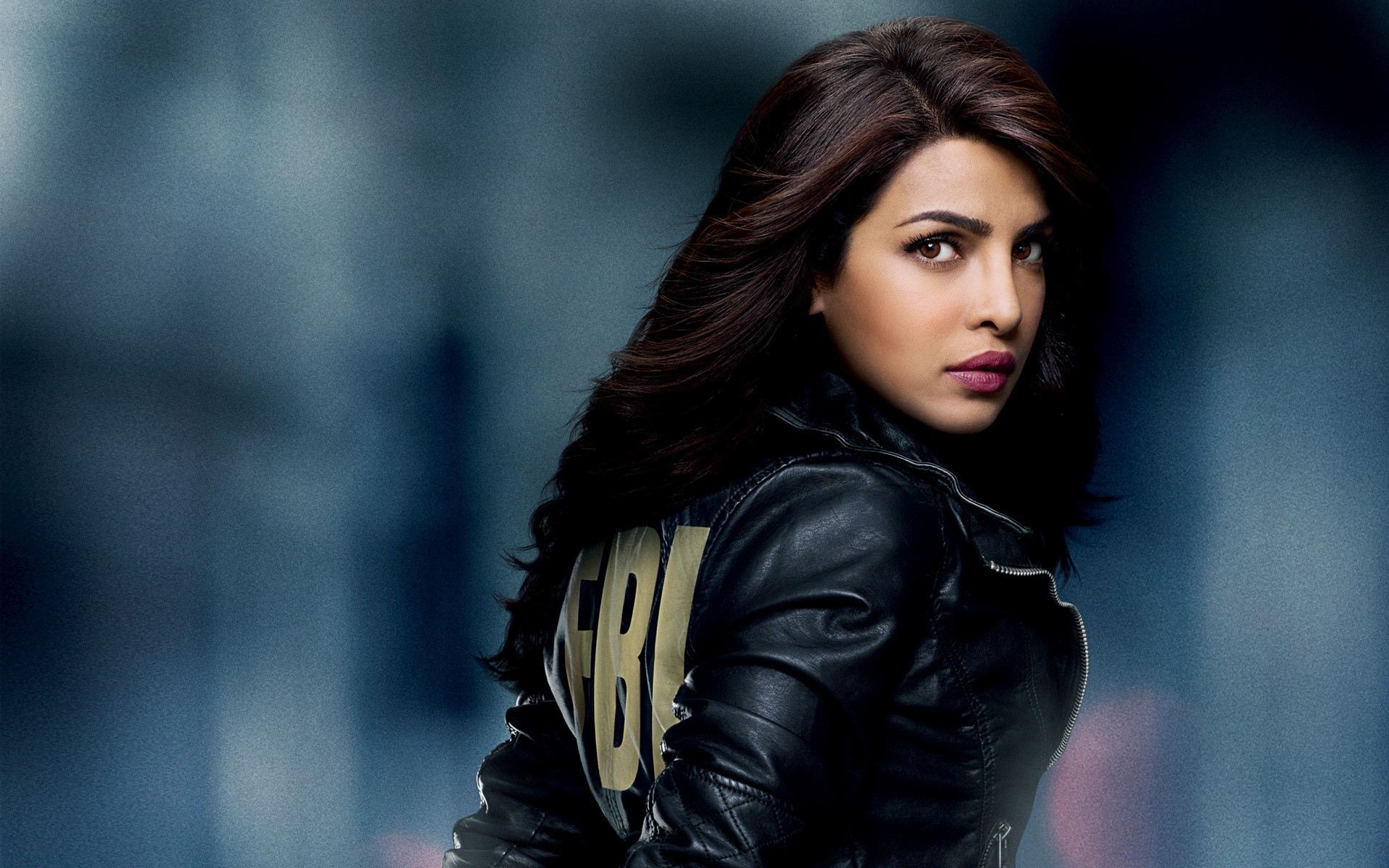 Wallpaper Priyanka Chopra in the Quantico series