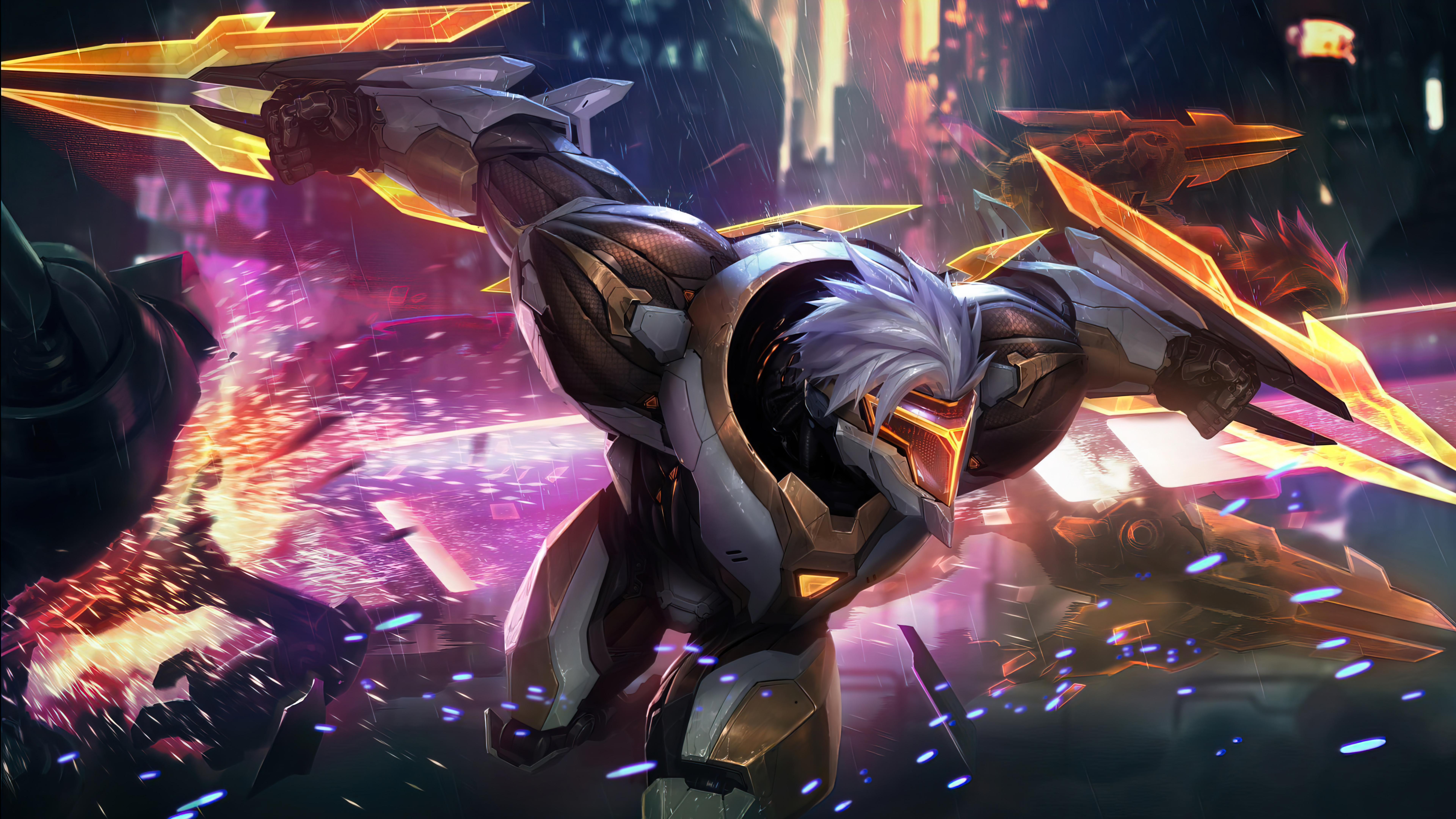 Fondos de pantalla Proyect Zed Prestige Edition League of Legends Splash Art