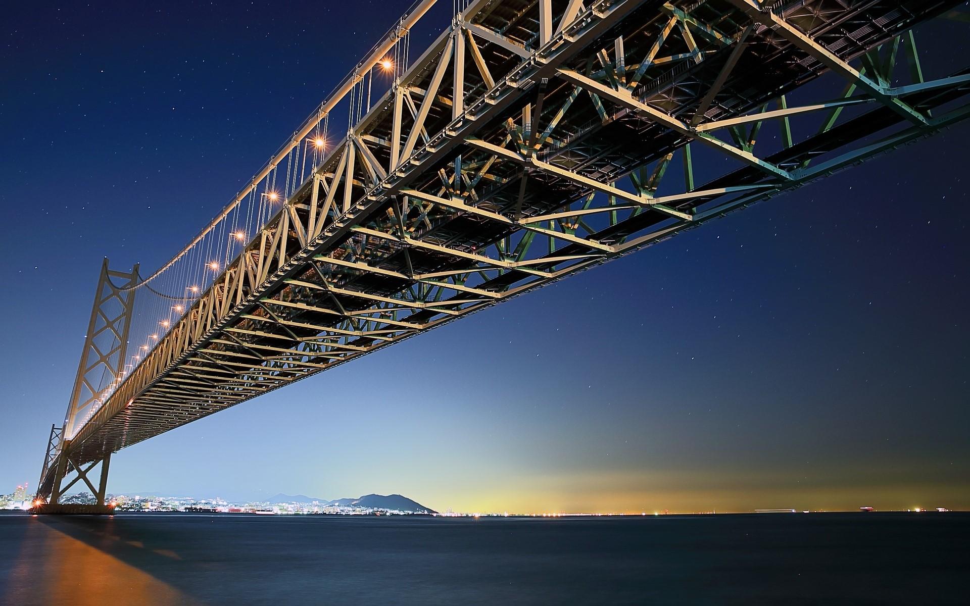Wallpaper Akashi Kaikyo Bridge