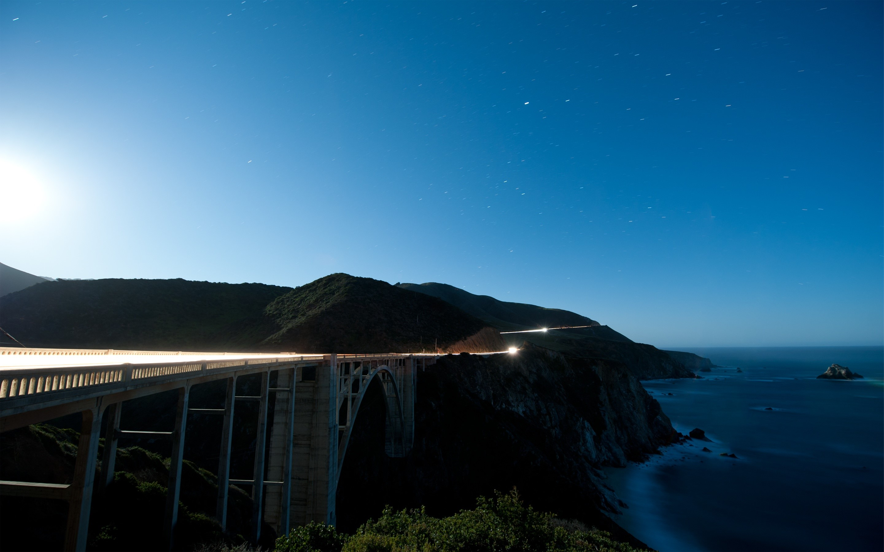Wallpaper Bixby creek bridge