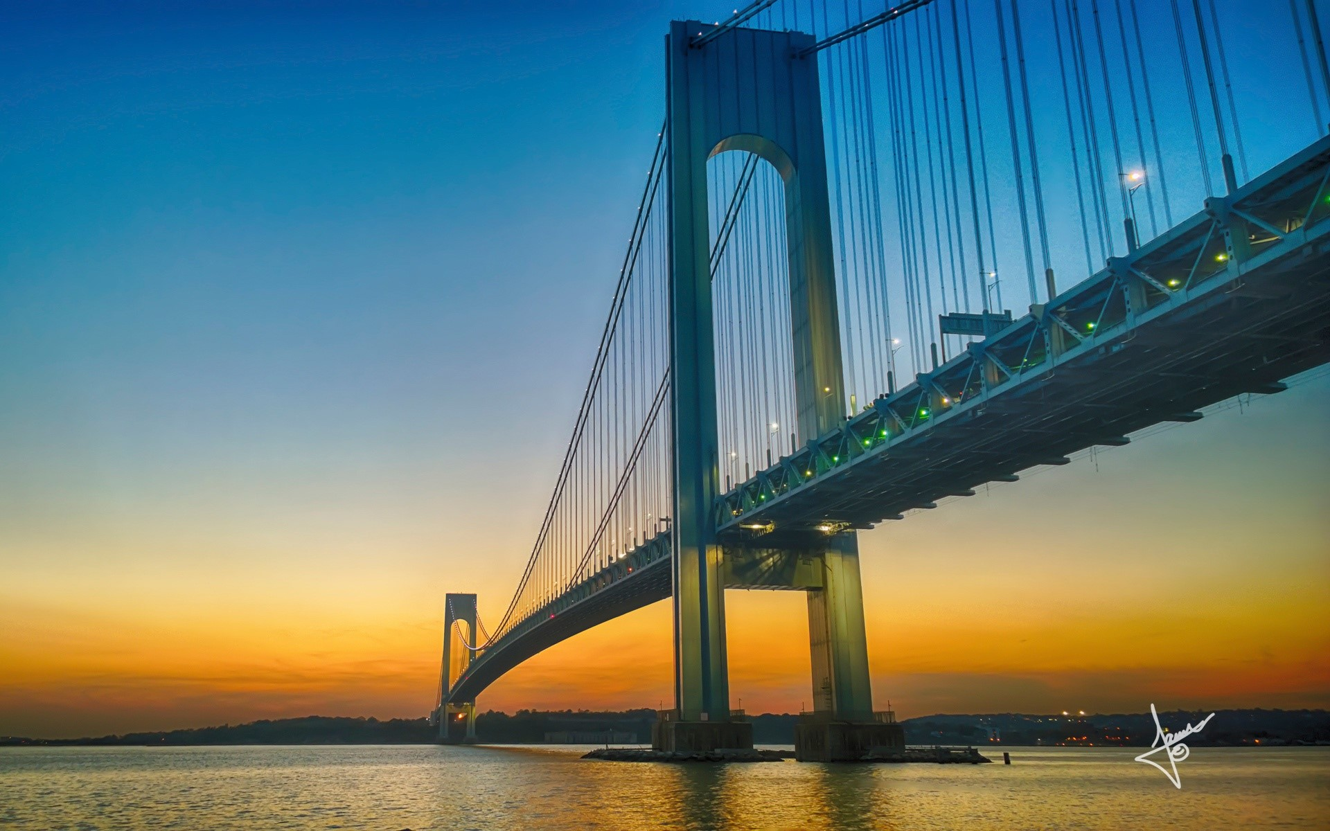 Wallpaper Verrazano Bridge
