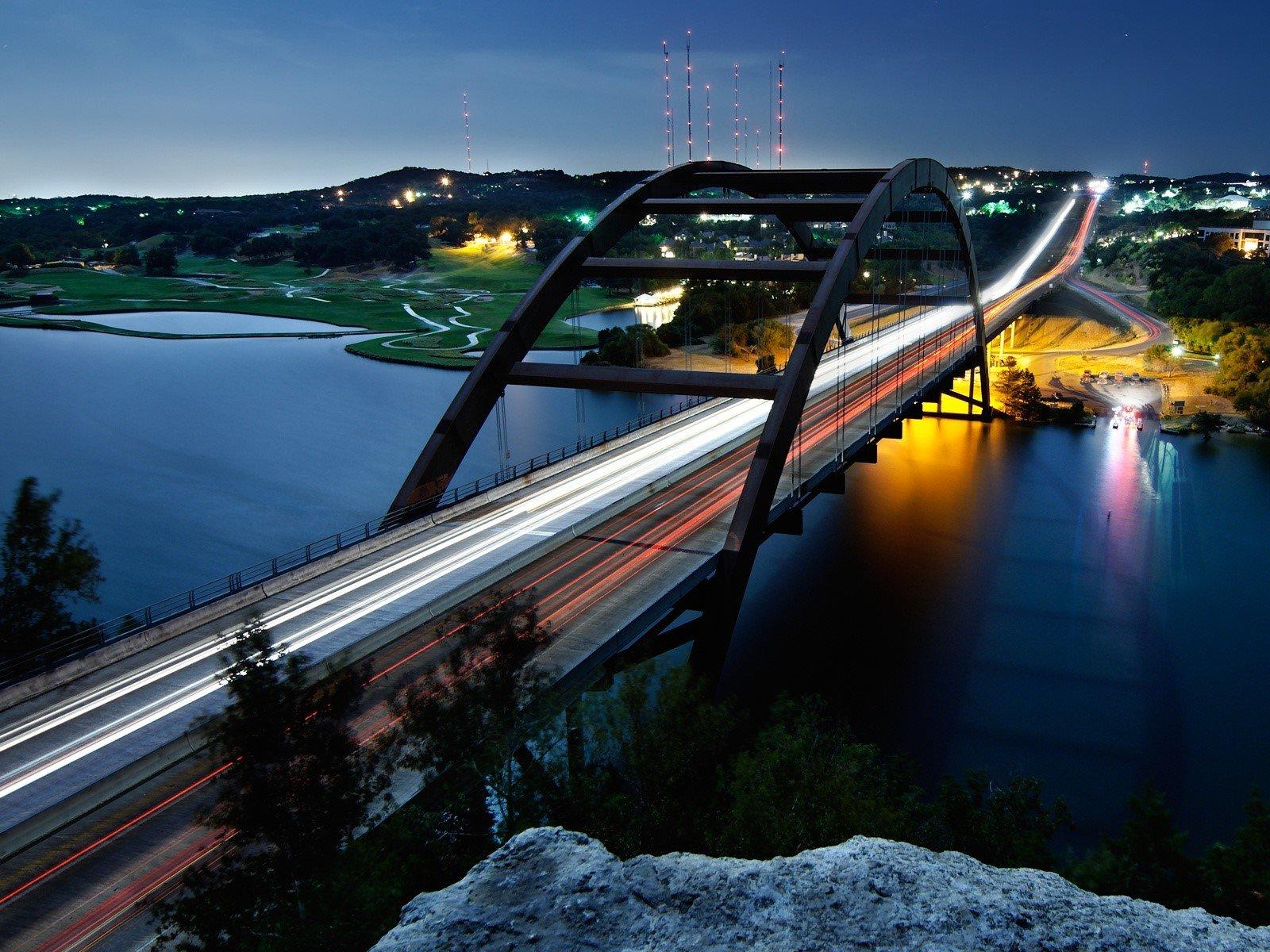 Fondo de pantalla de Puente Pennybacker Imágenes
