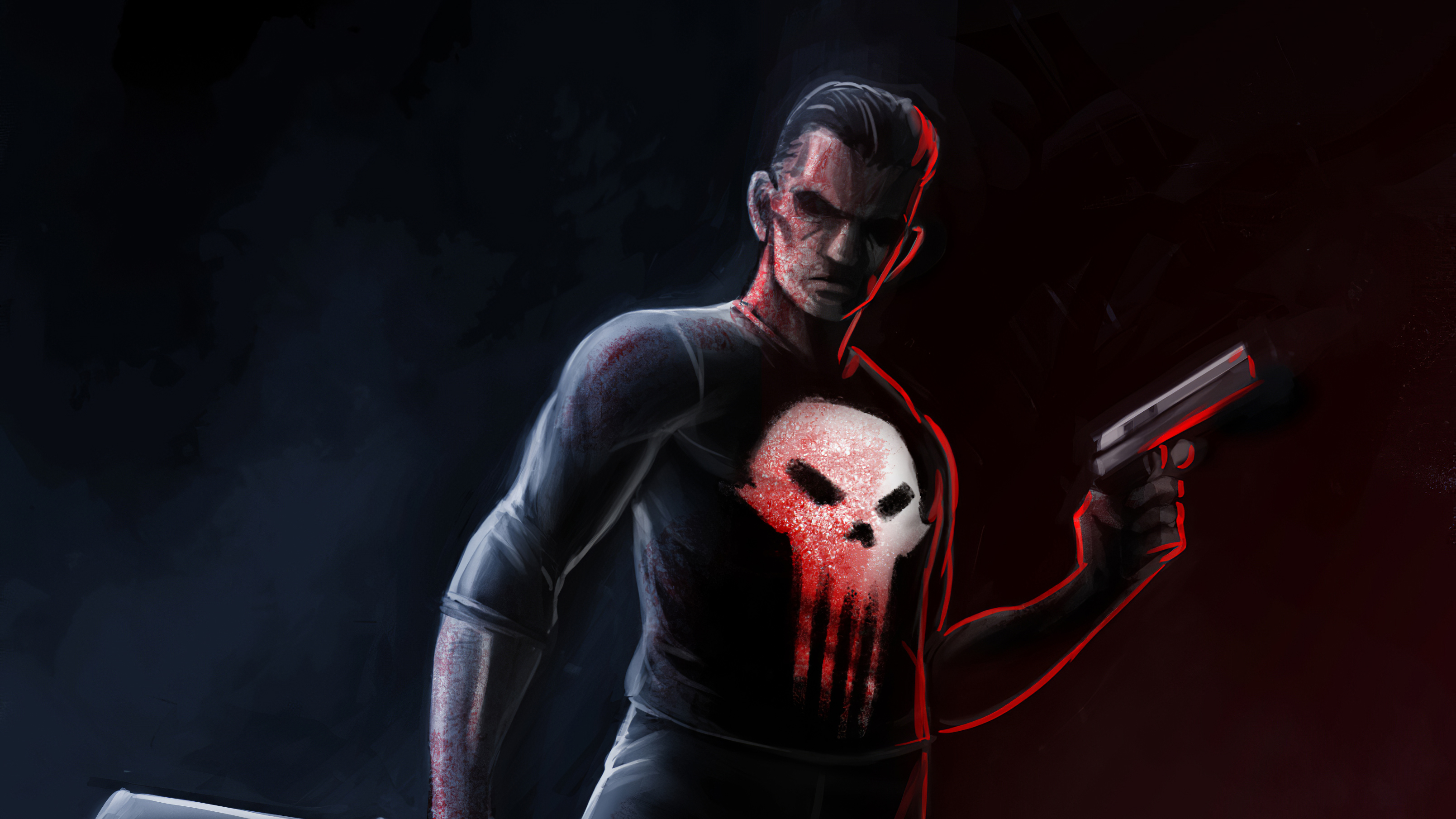 Fondos de pantalla Punisher Artwork