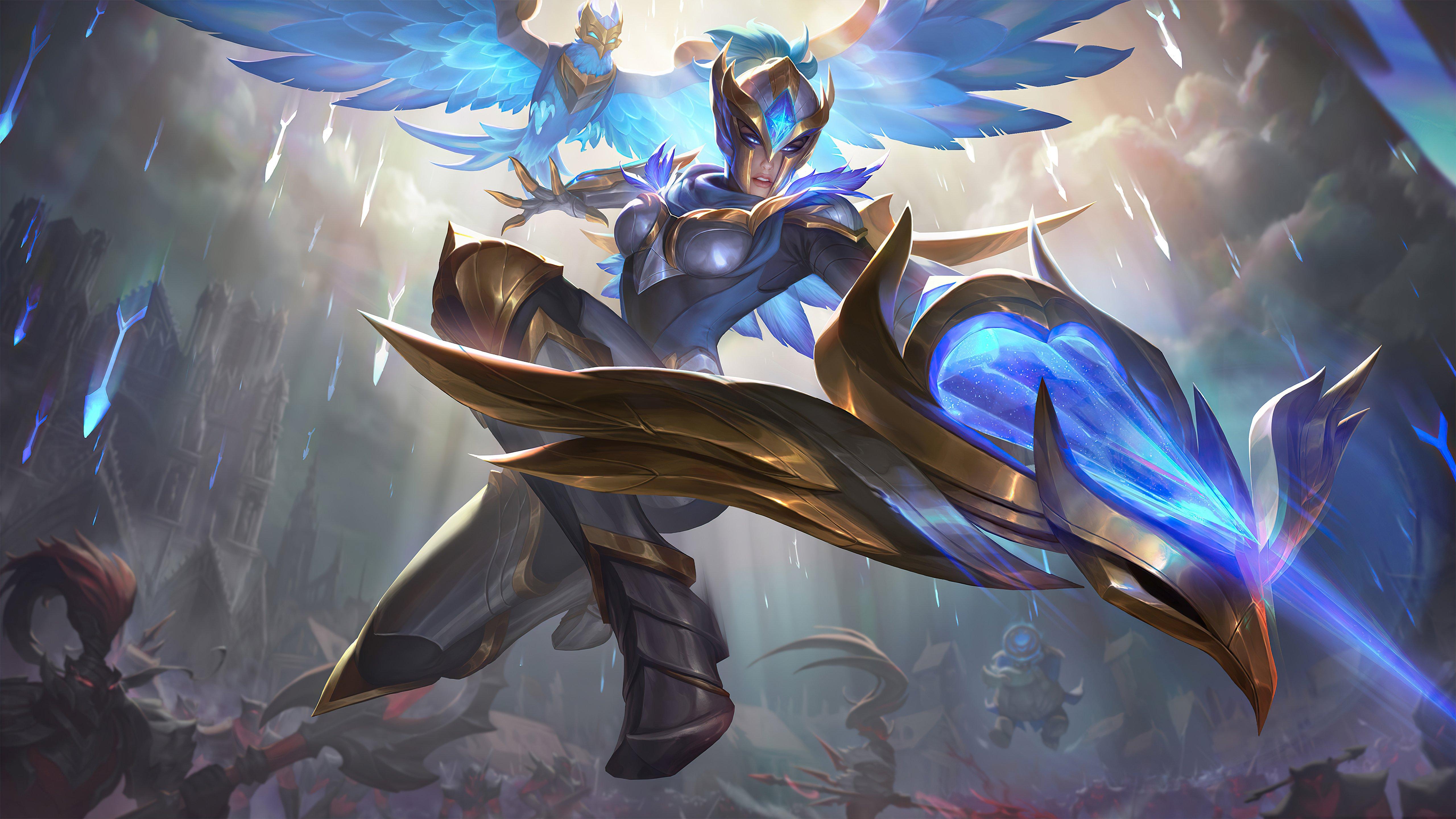 Fondos de pantalla Quinn League of Legends