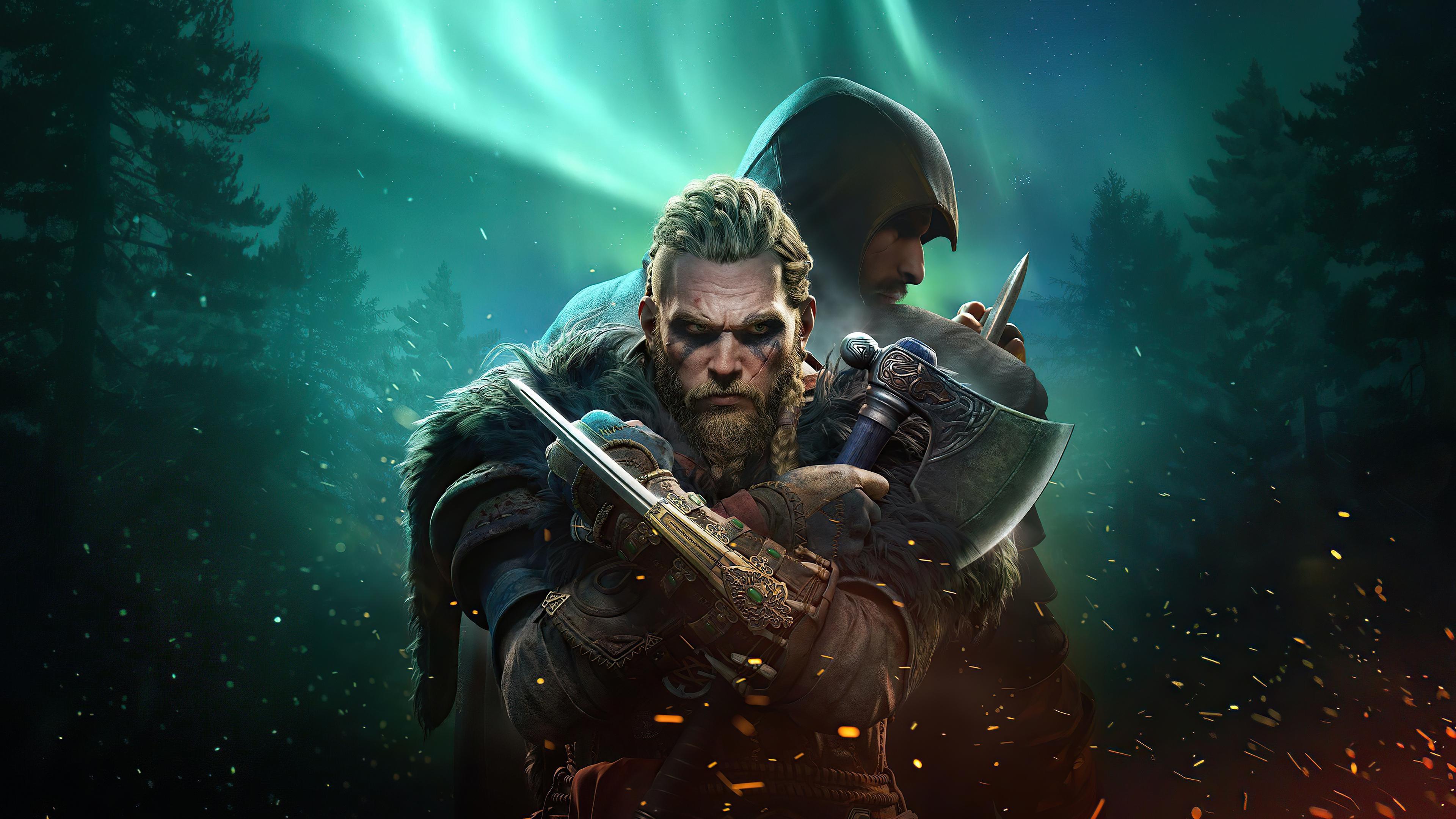 Wallpaper Ragnar Lothbrok from Assassins Creed