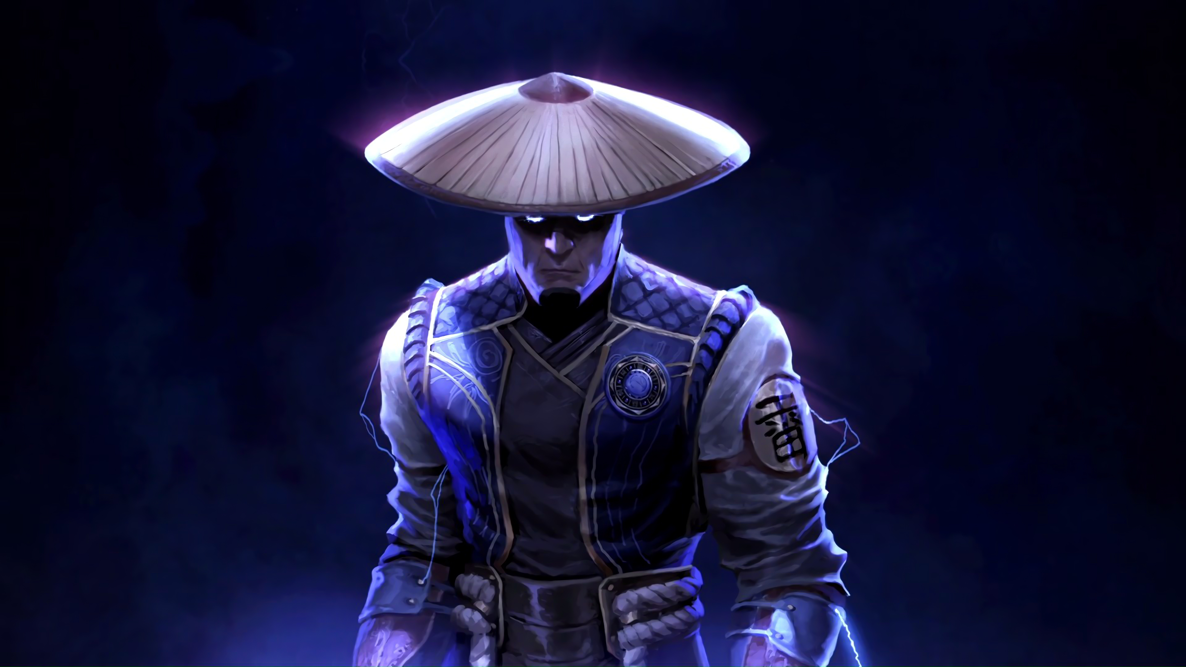4k resolution mortal kombat 11 raiden wallpaper