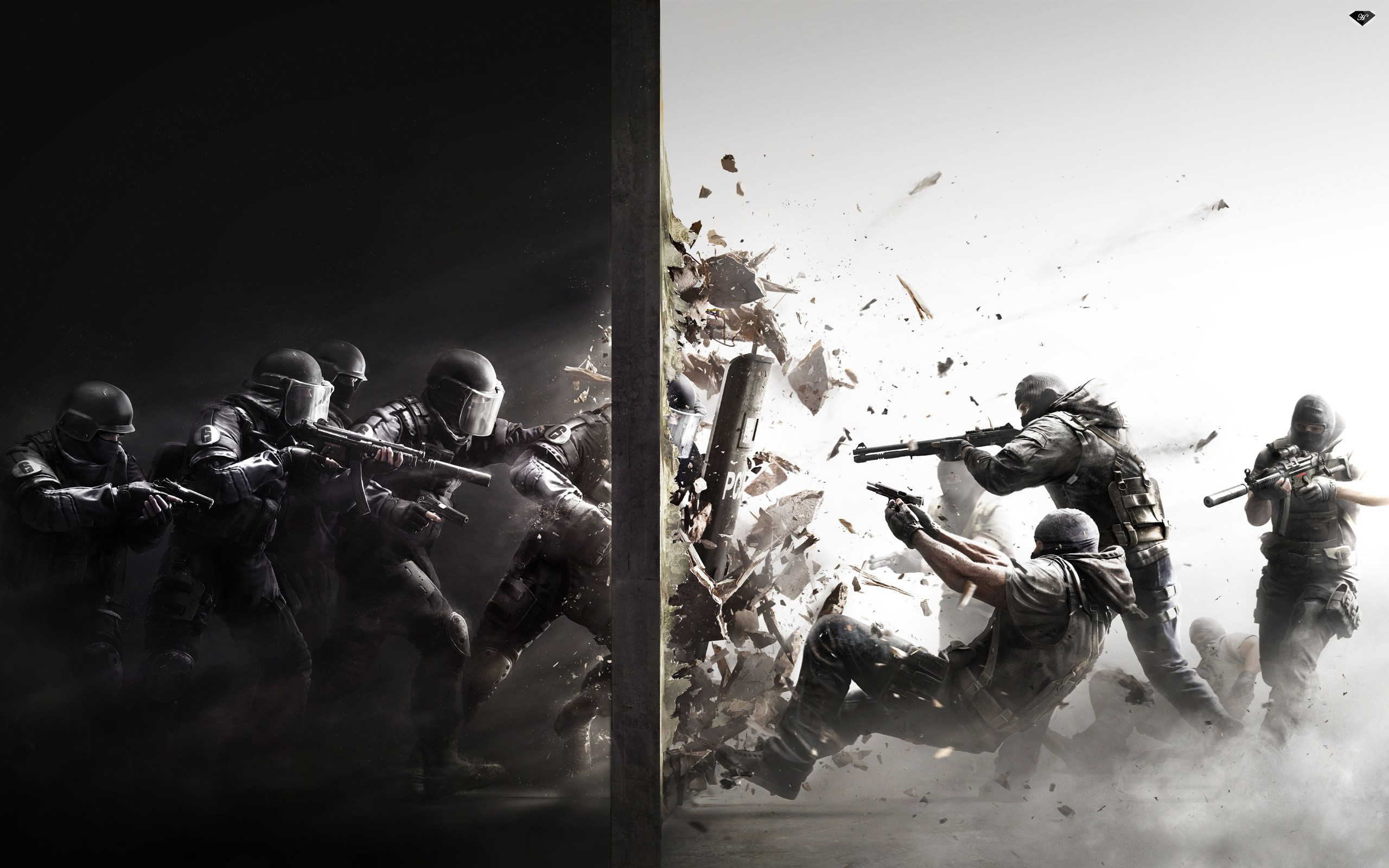 Wallpaper Rainbow Six Siege