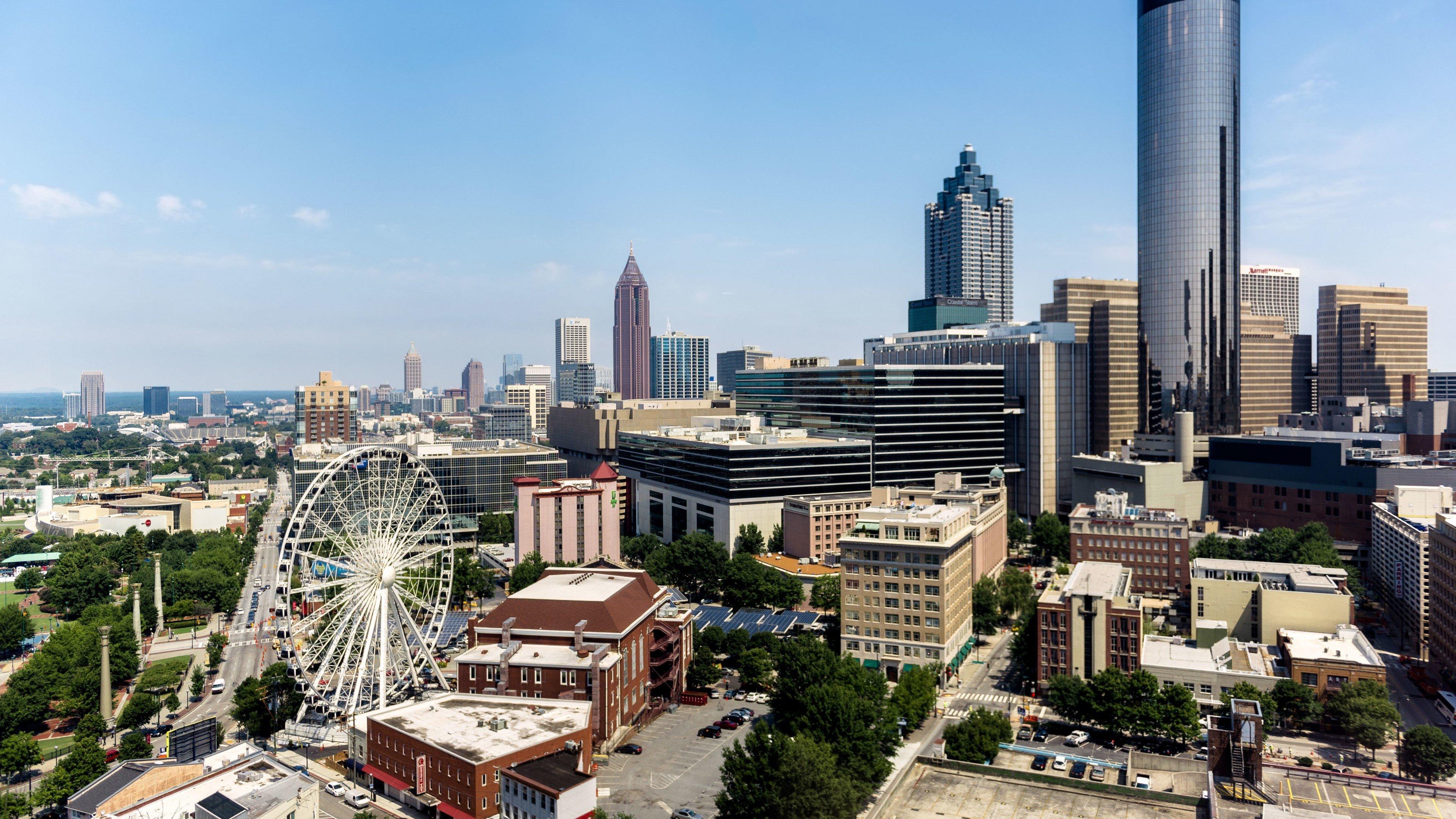 Fondos de pantalla Rascacielos en Atlanta Georgia