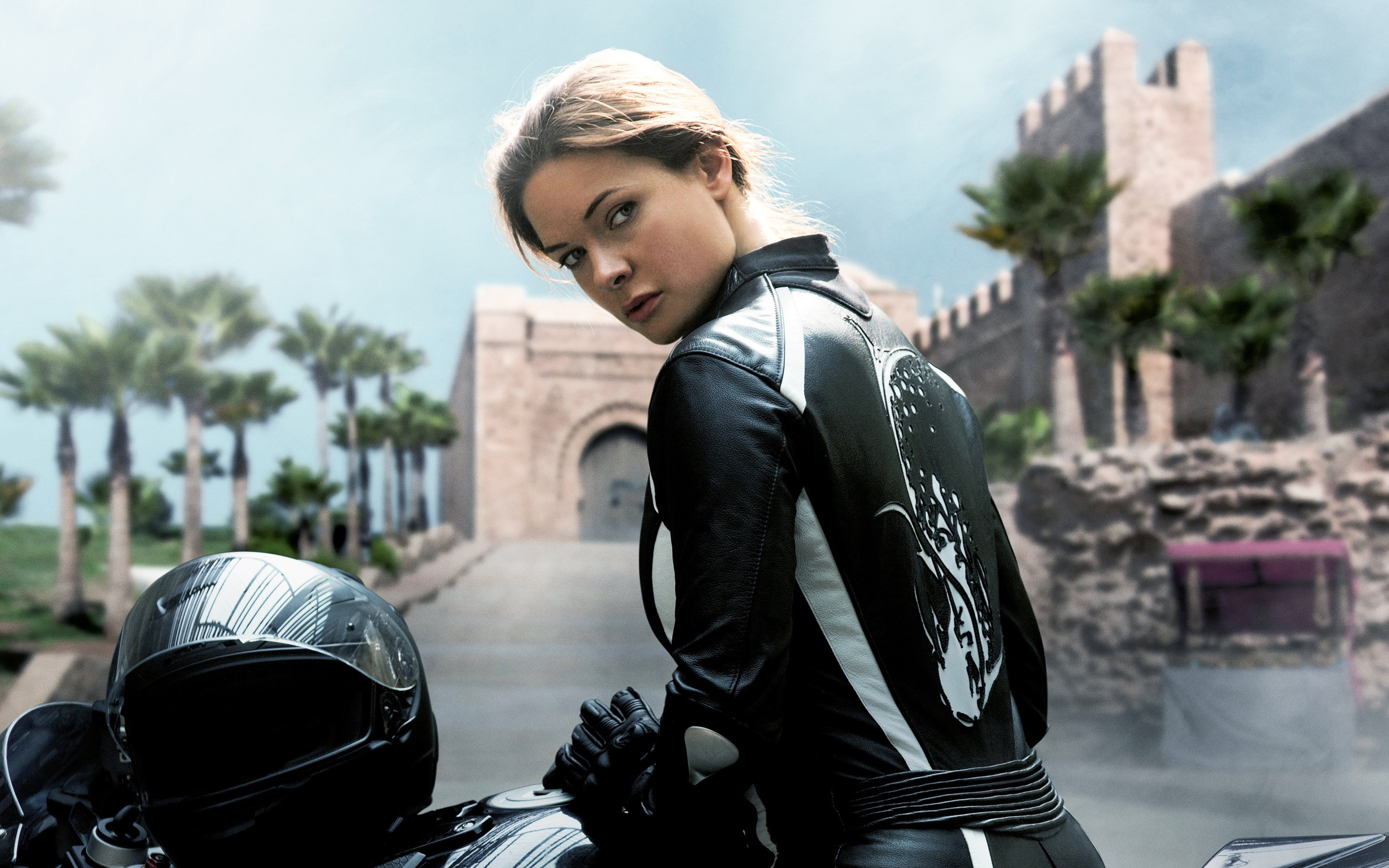 Wallpaper Rebecca Ferguson in Mission Impossible Secret Nation