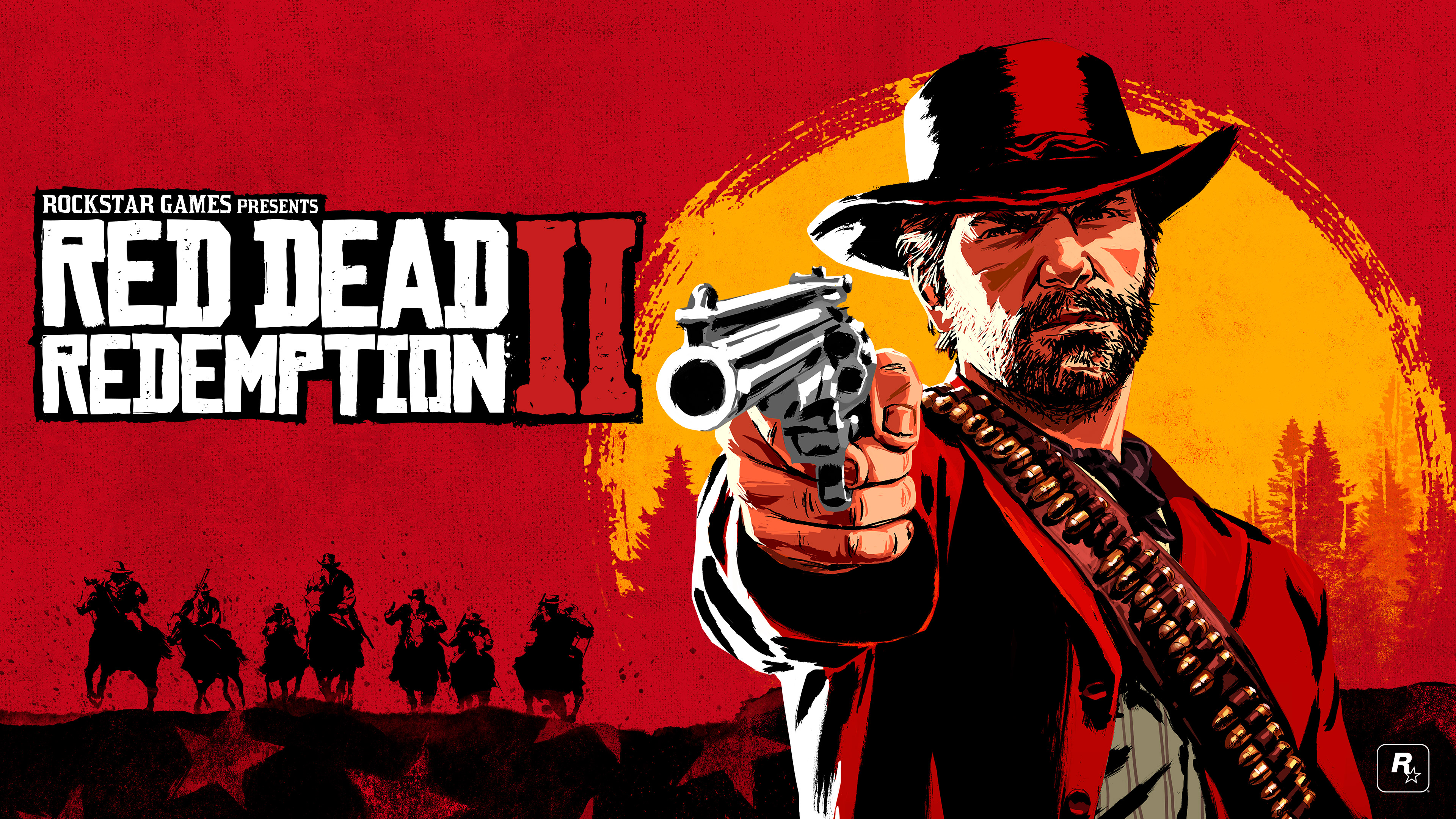 Wallpaper Red Dead Redemption 2 Cover