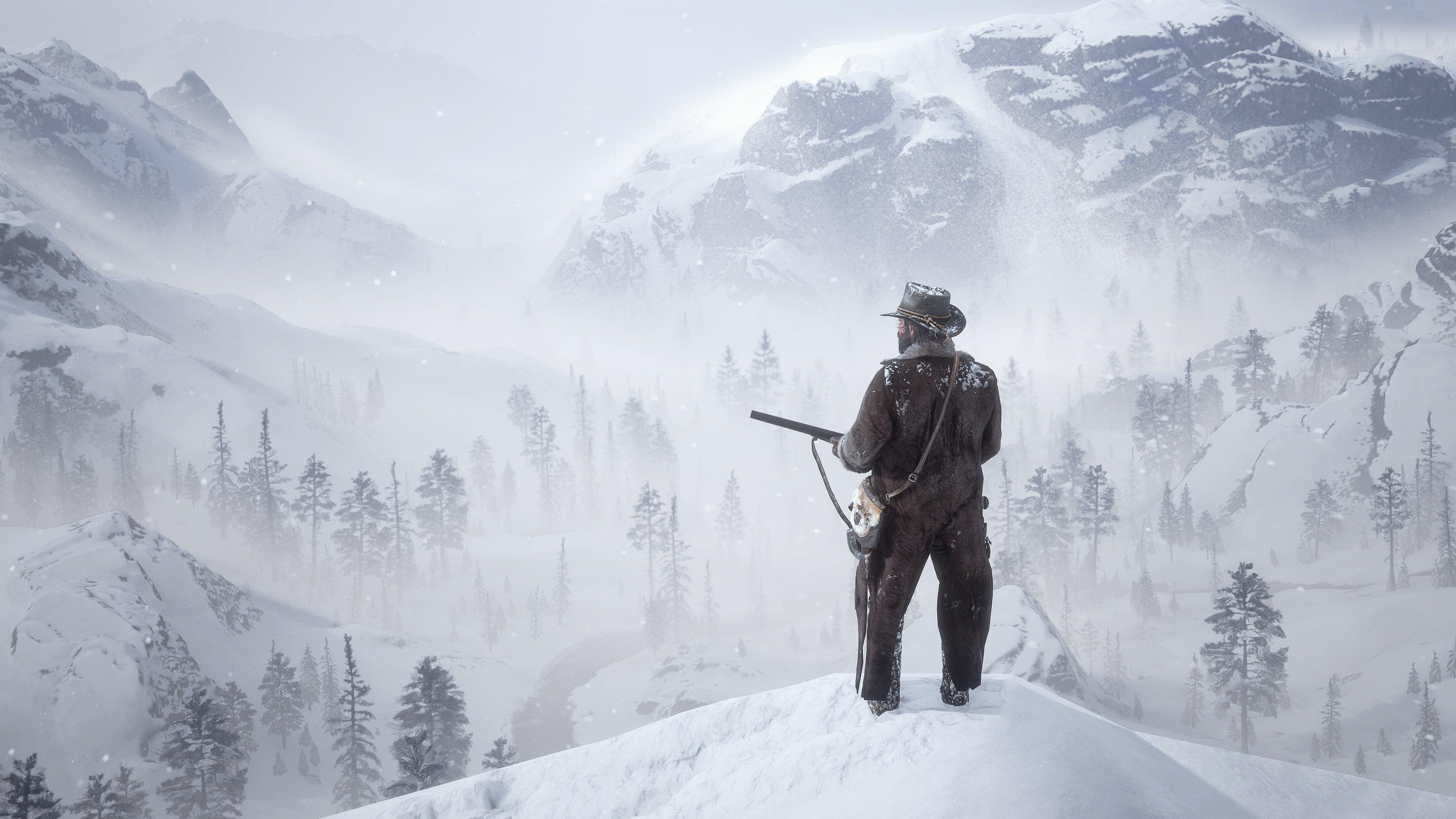 Fondos de pantalla Red Dead Redemption 2 The bounty hunter