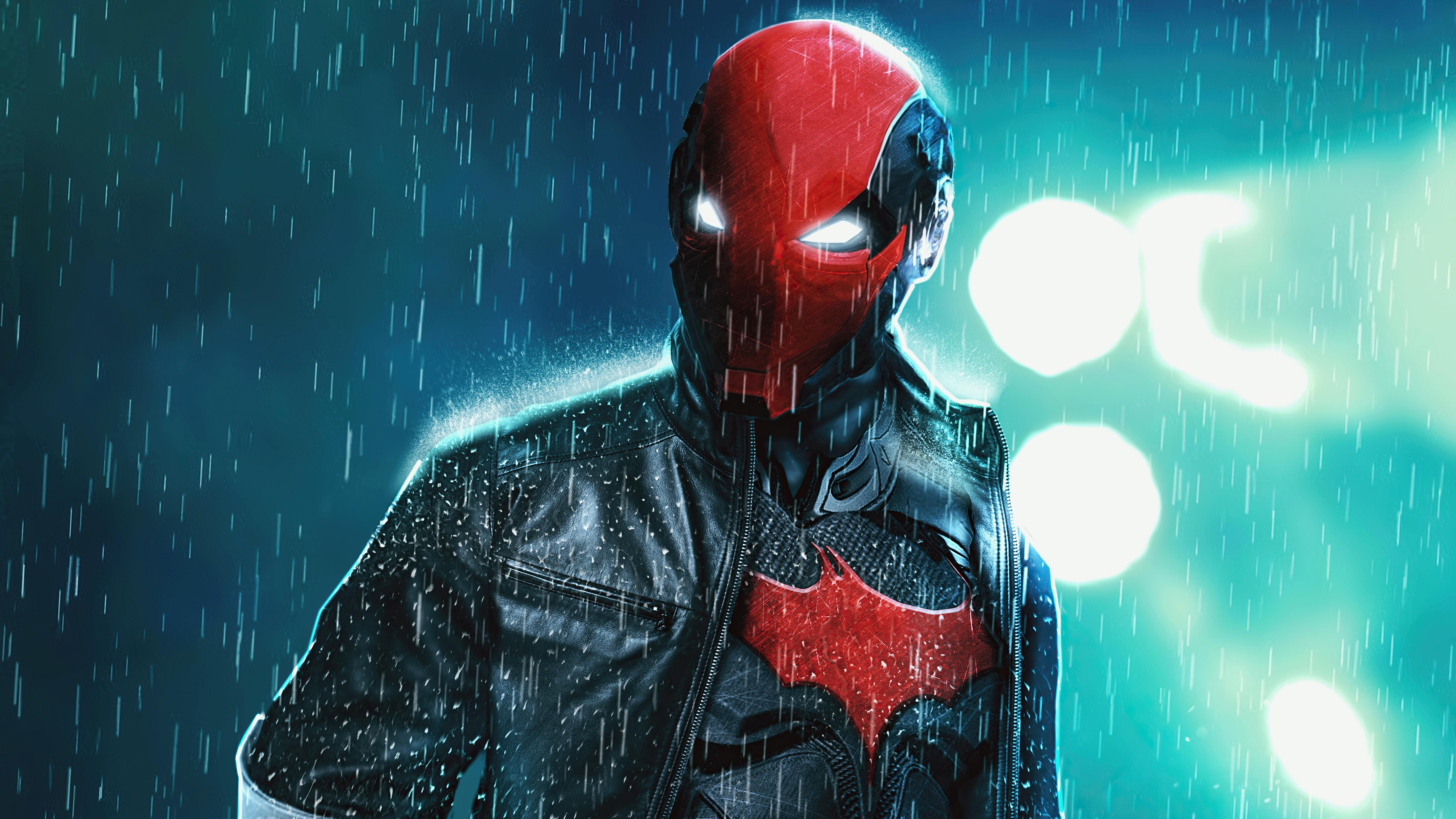 Wallpaper Red hood Vigilante