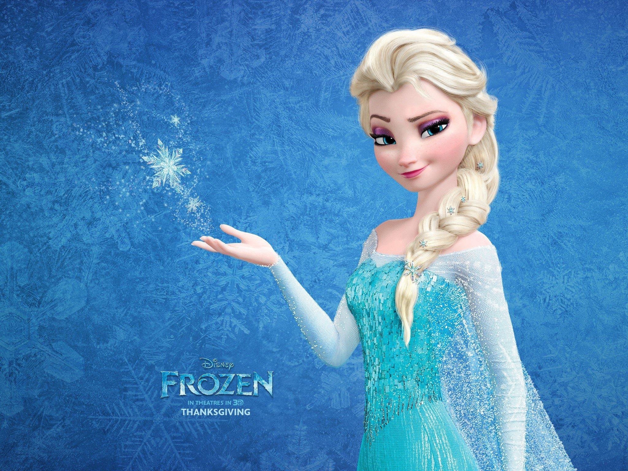 Fondos de pantalla Reina de hielo Elsa en Frozen