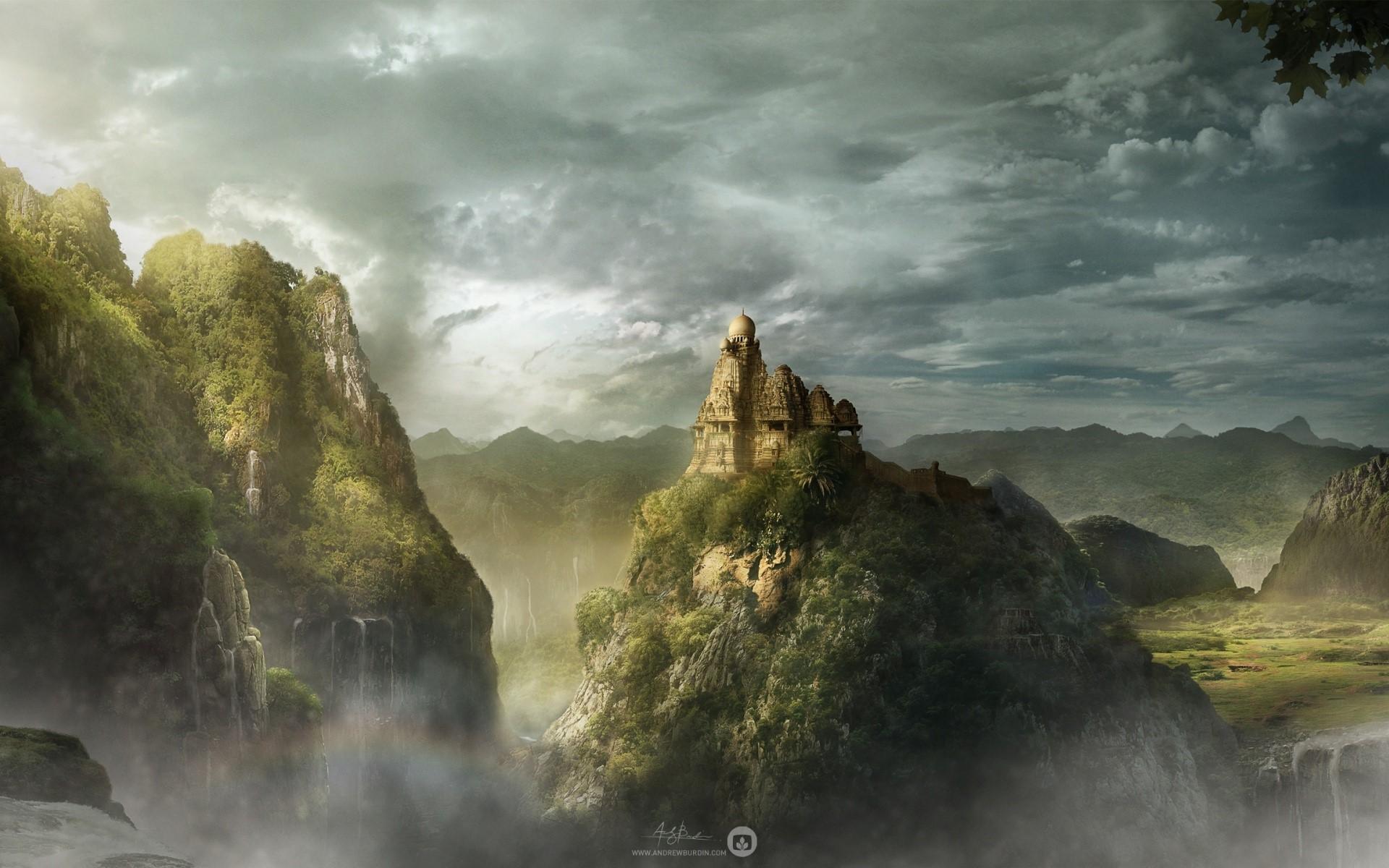 Wallpaper Kingdom of the mountain