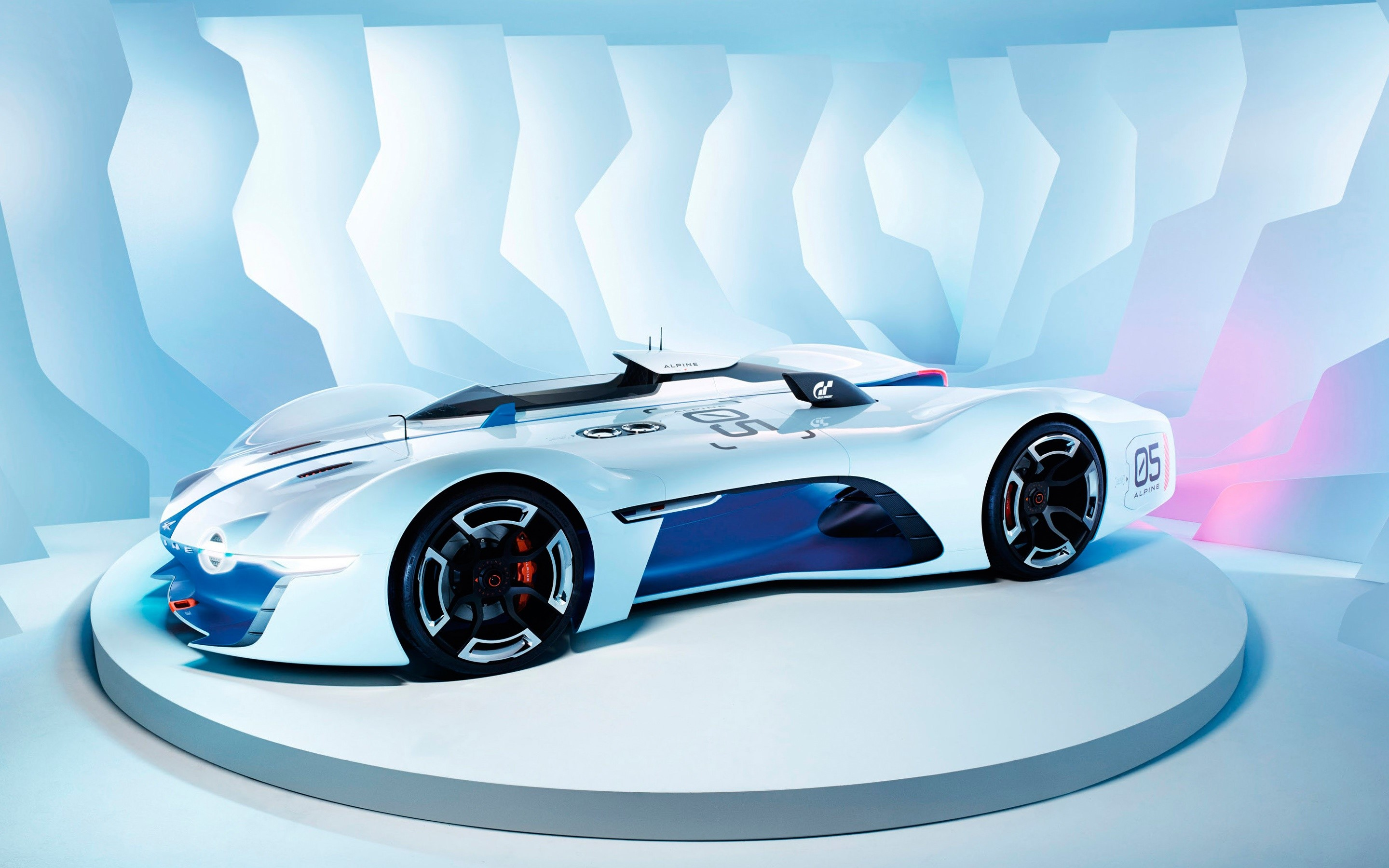 Wallpaper Renault Alpine Vision in Gran Turismo