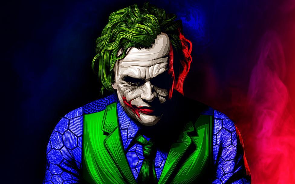 Joker Artwork Illustration Wallpaper 4k Ultra HD ID:3810