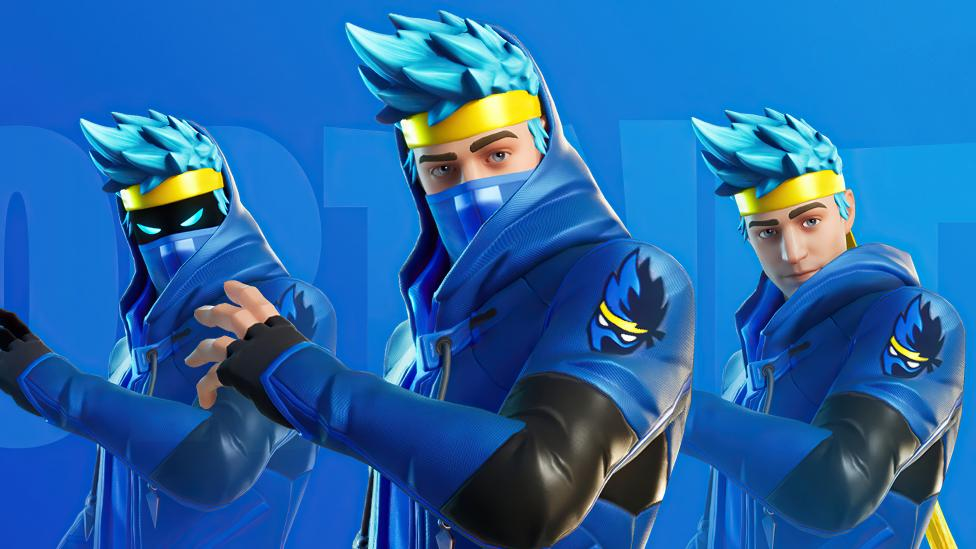 Ninja Fortnite Battle Royale Skin Fondo de pantalla 4k ...
