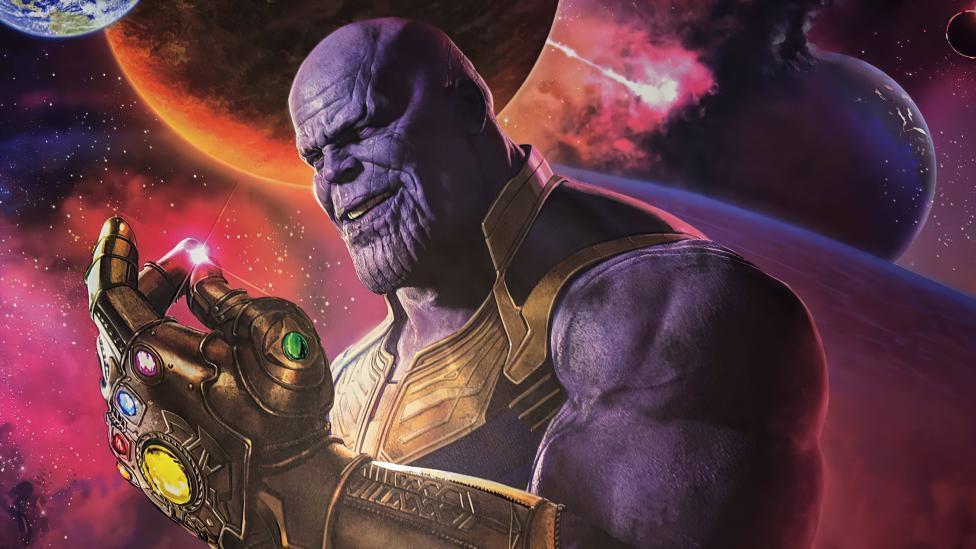 Thanos chasquando dedos Fondo de pantalla 4k Ultra HD ID:6442