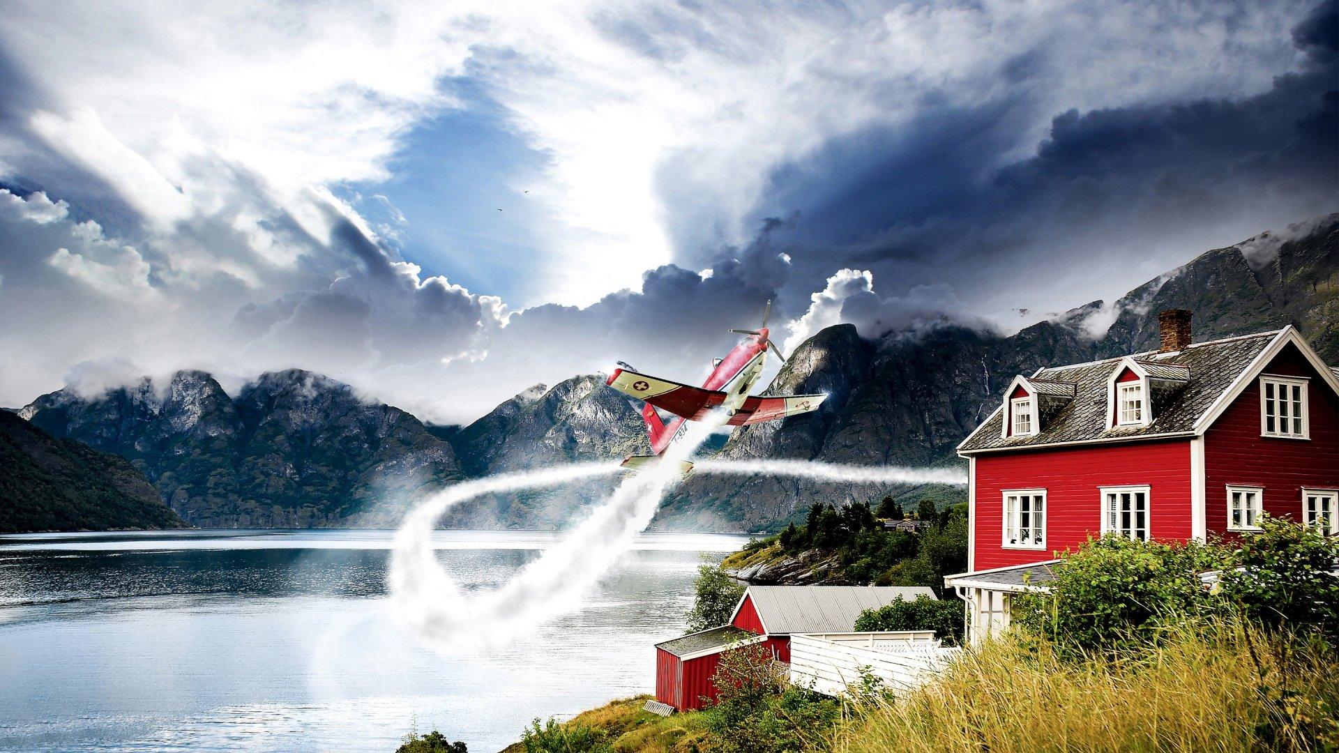 Wallpaper Aviación noruega Images