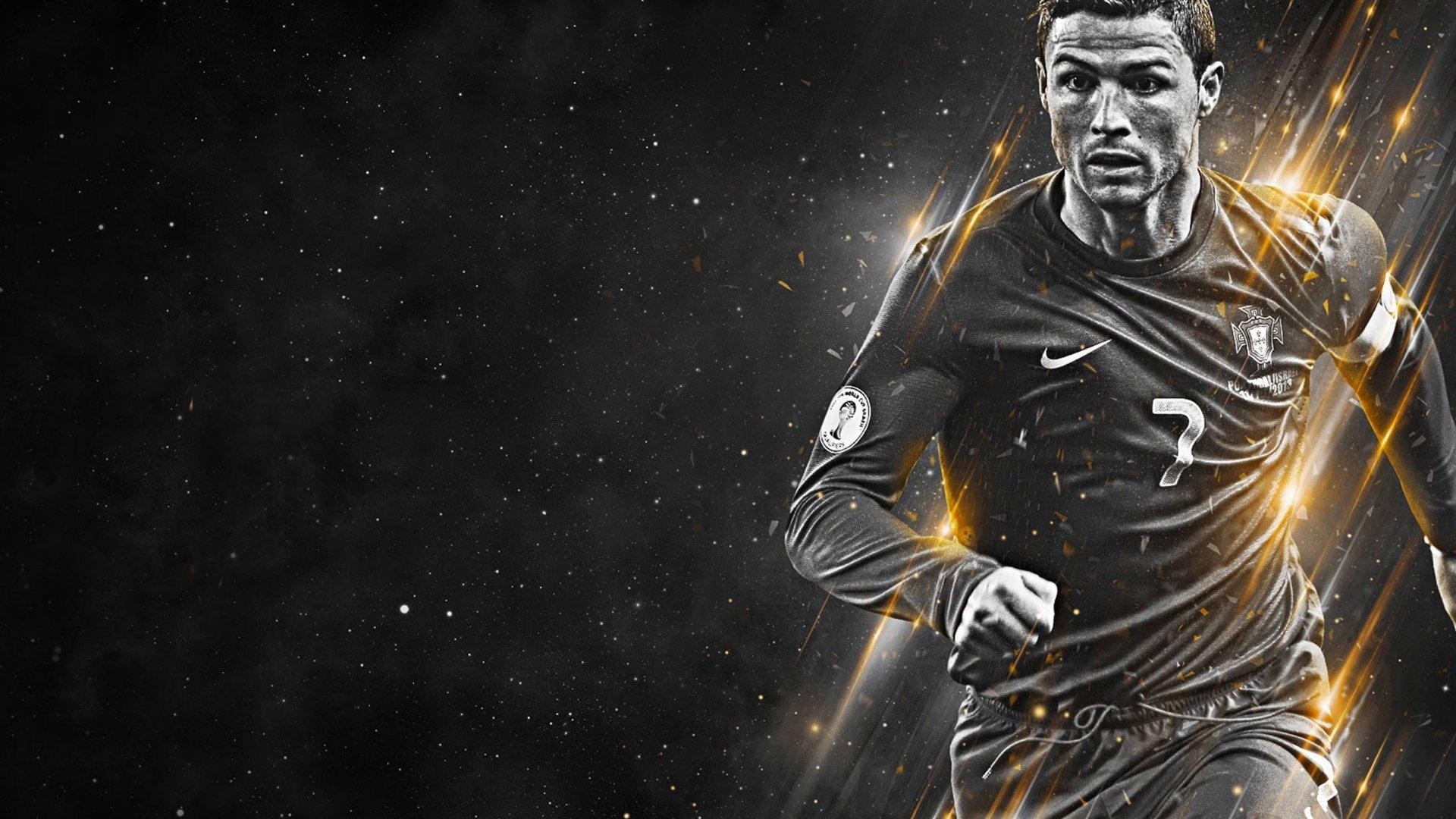 Cristiano Ronaldo Jugando Fondo De Pantalla 2k Quad HD ID:1827