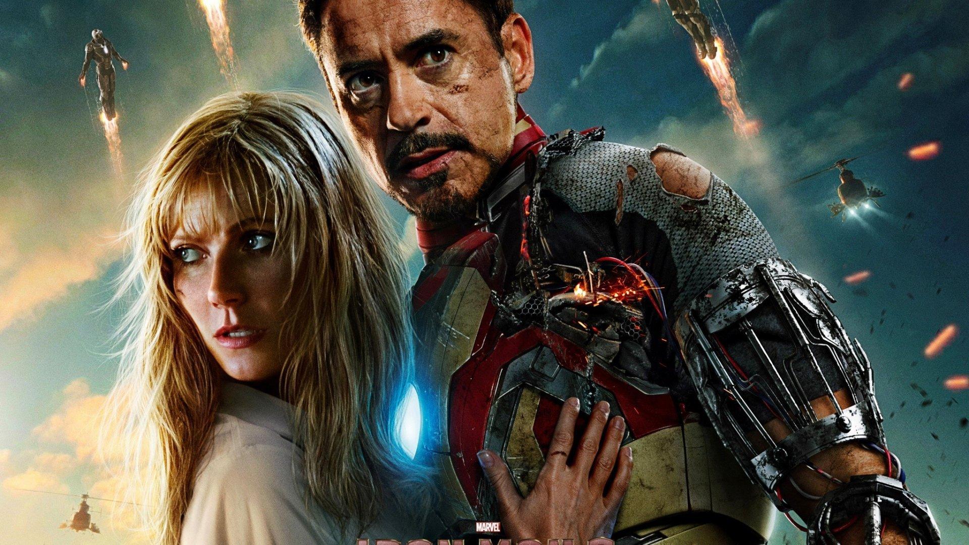 Robert Downey Jr En Iron Man 3 Wallpaper 1920x1080 Id 1097