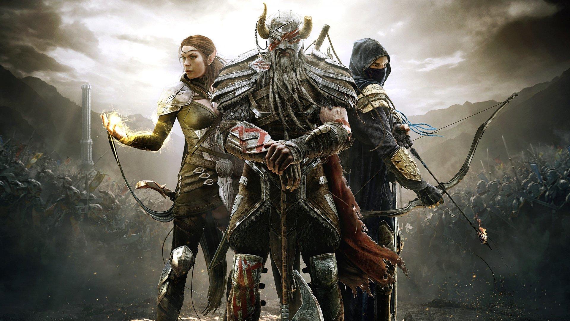 The Elder Scrolls Online Legends Fondo De Pantalla 2k Quad
