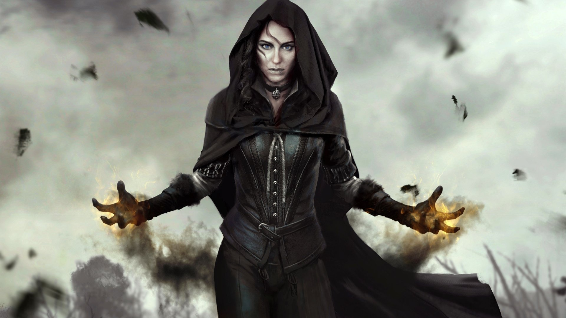 Yennefer From The Witcher 3 Wild Hunt Wallpaper Id 2669