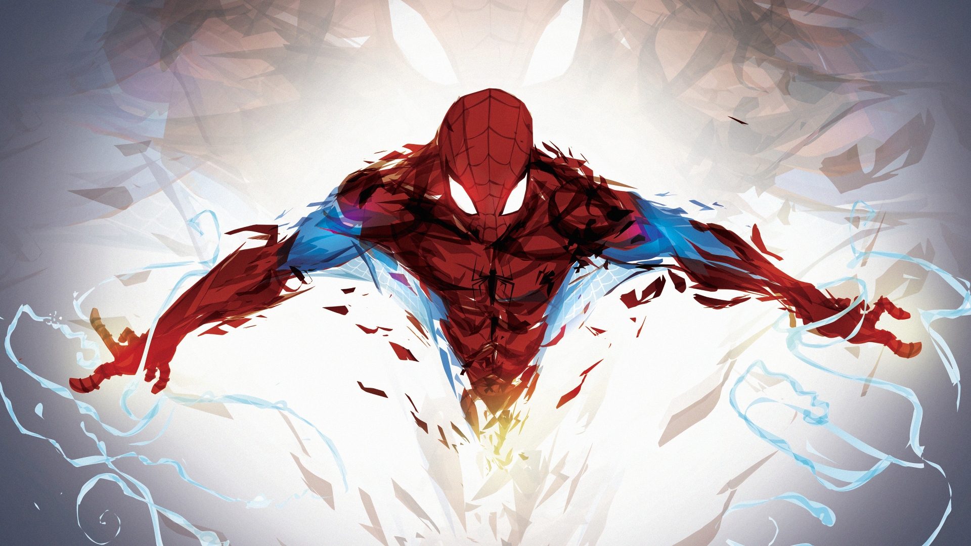 Spiderman In The Air Fanart Wallpaper 4k Ultra Hd Id3864