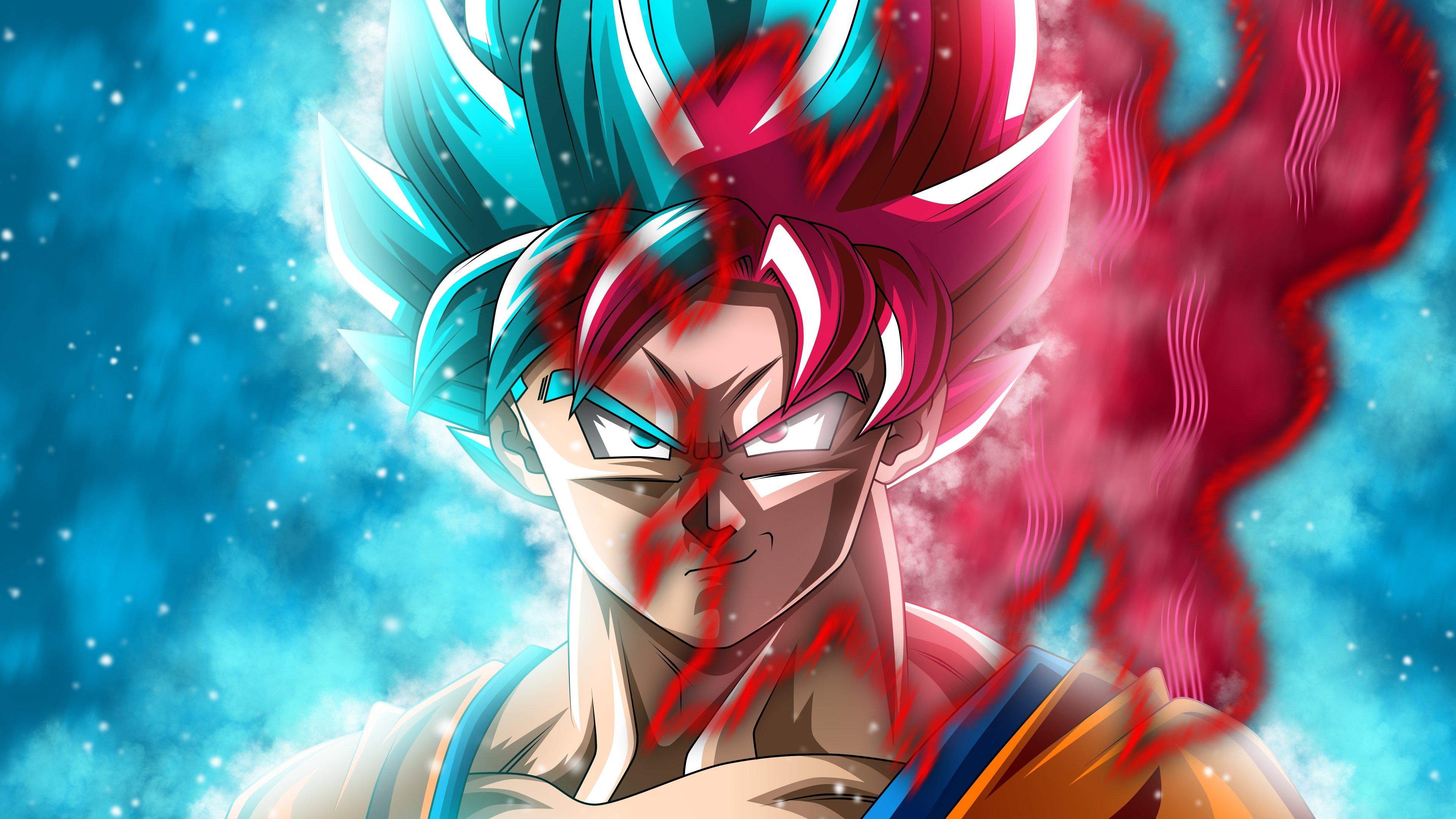 Goku Super Saiyan Blue And Black Goku Ssr Dragon Ball Super