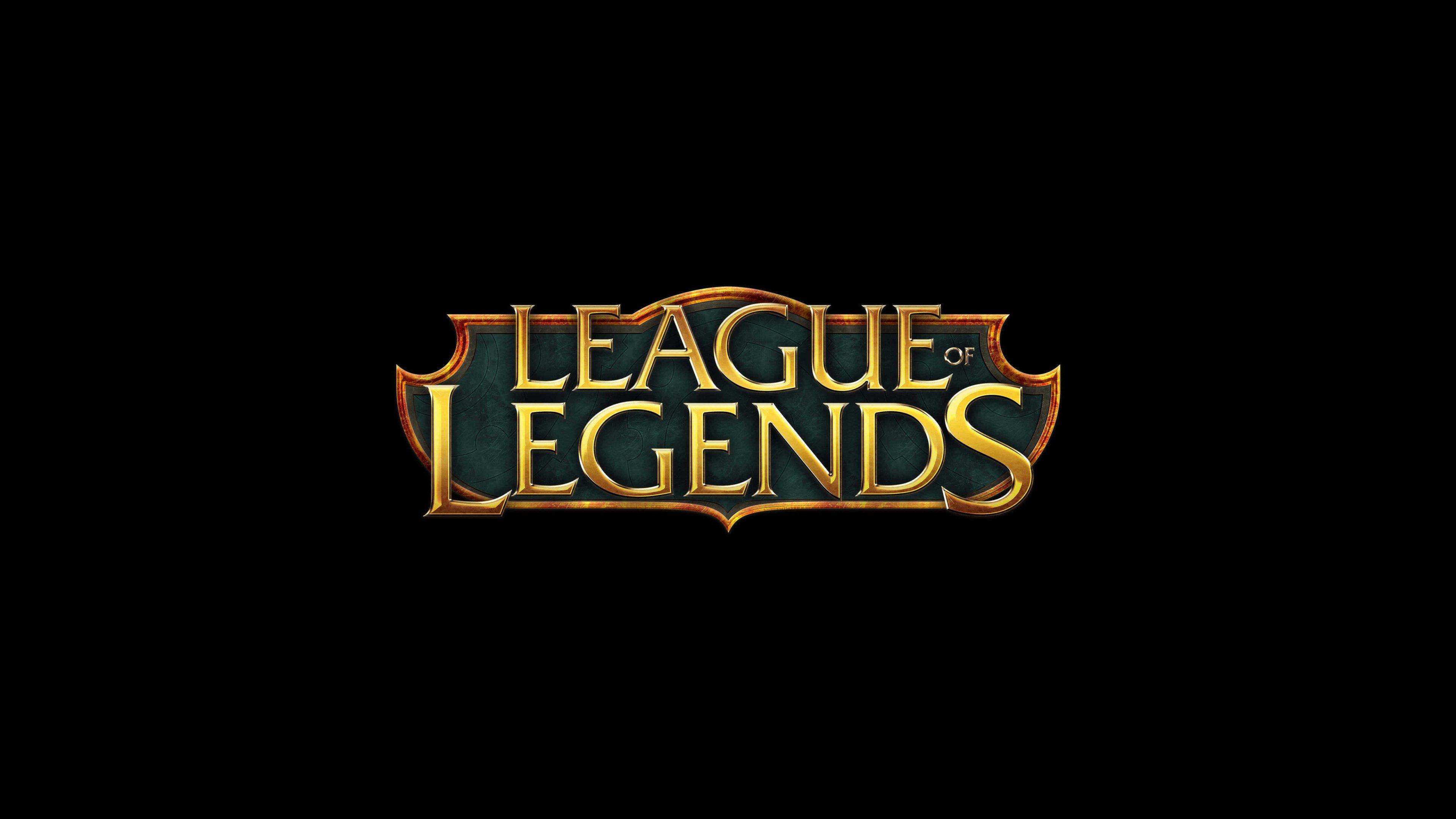League Of Legends Logo Fondo de pantalla 5k Ultra HD ID:3815