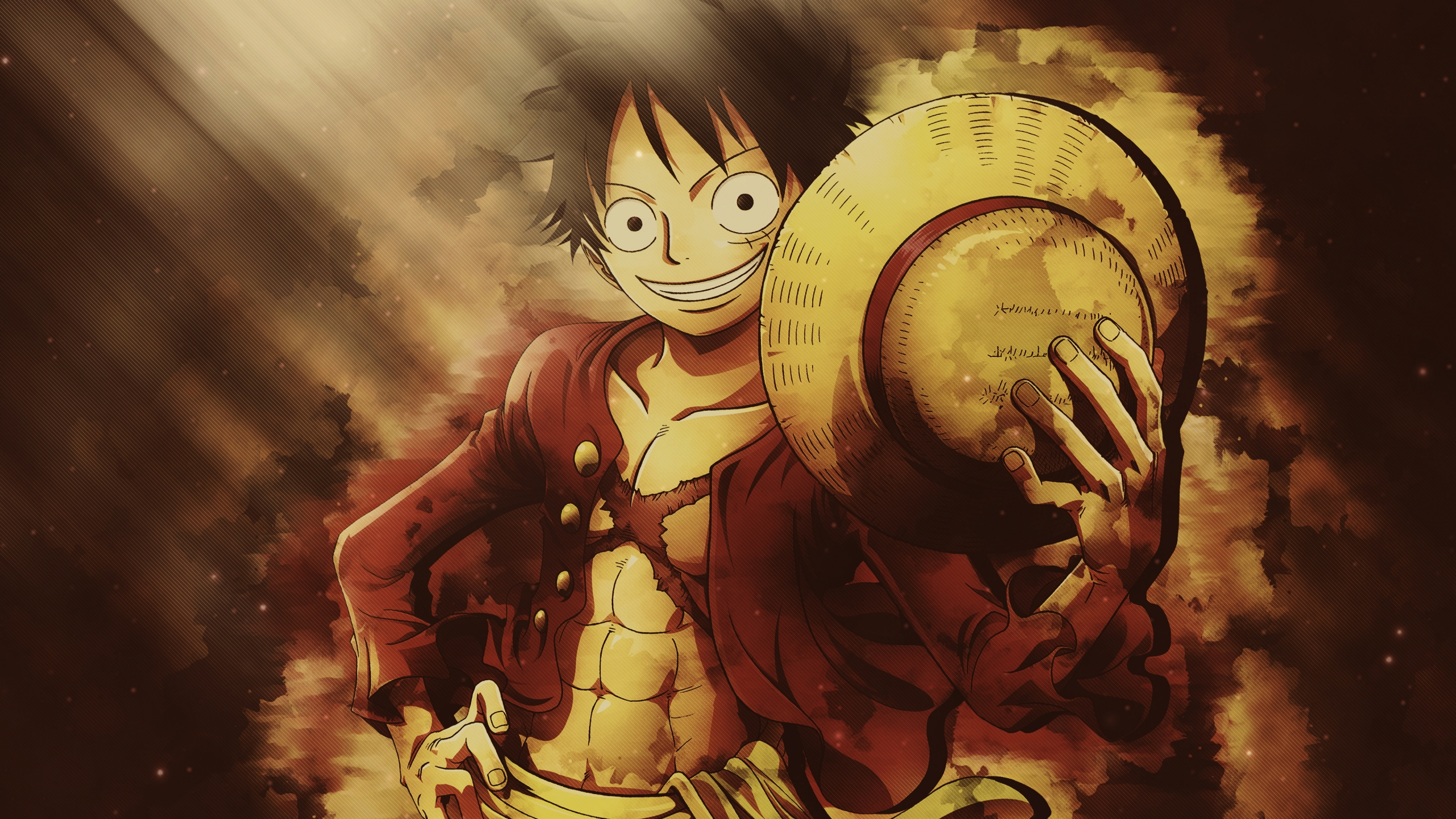 Monkey D Luffy From One Piece Anime Wallpaper 4k Ultra Hd Id 4017