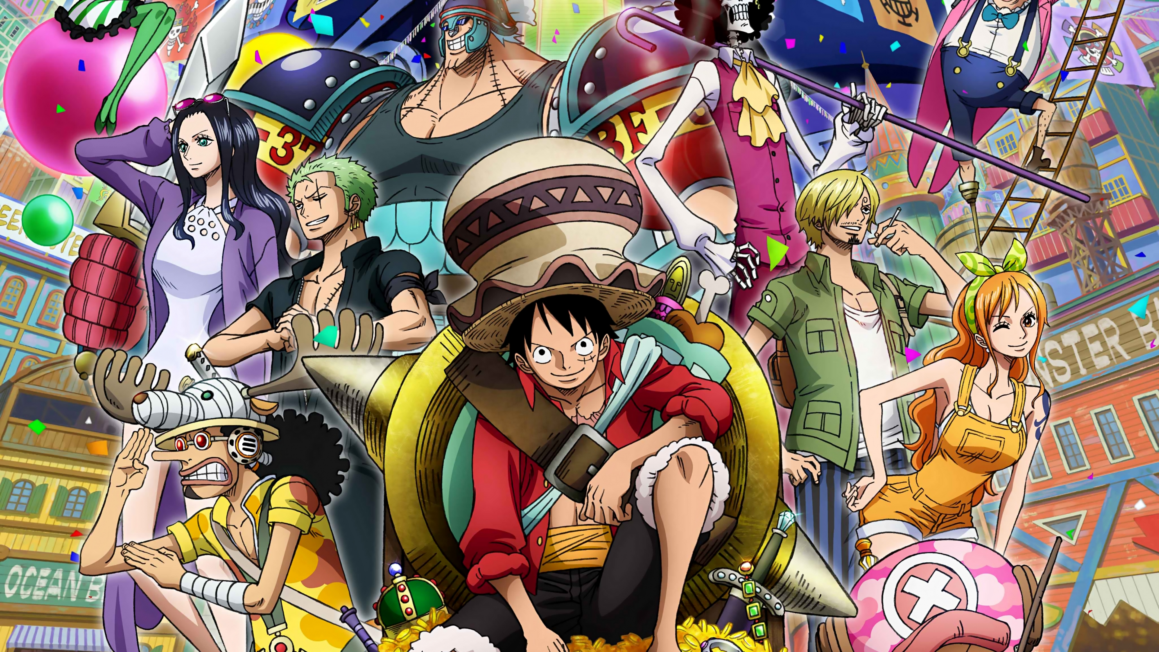 One Piece Characters Anime Wallpaper Id4014