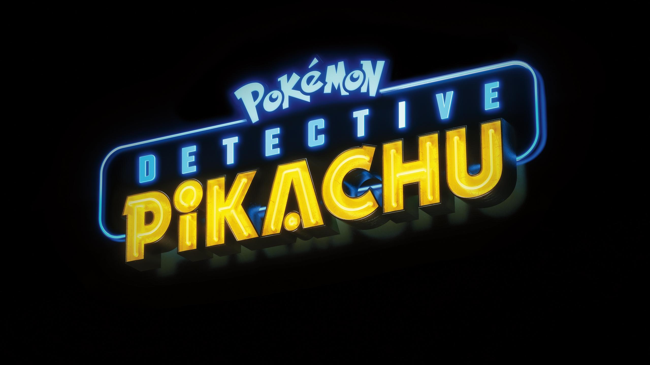 Pokémon Detective Pikachu Logo Wallpaper Id3139