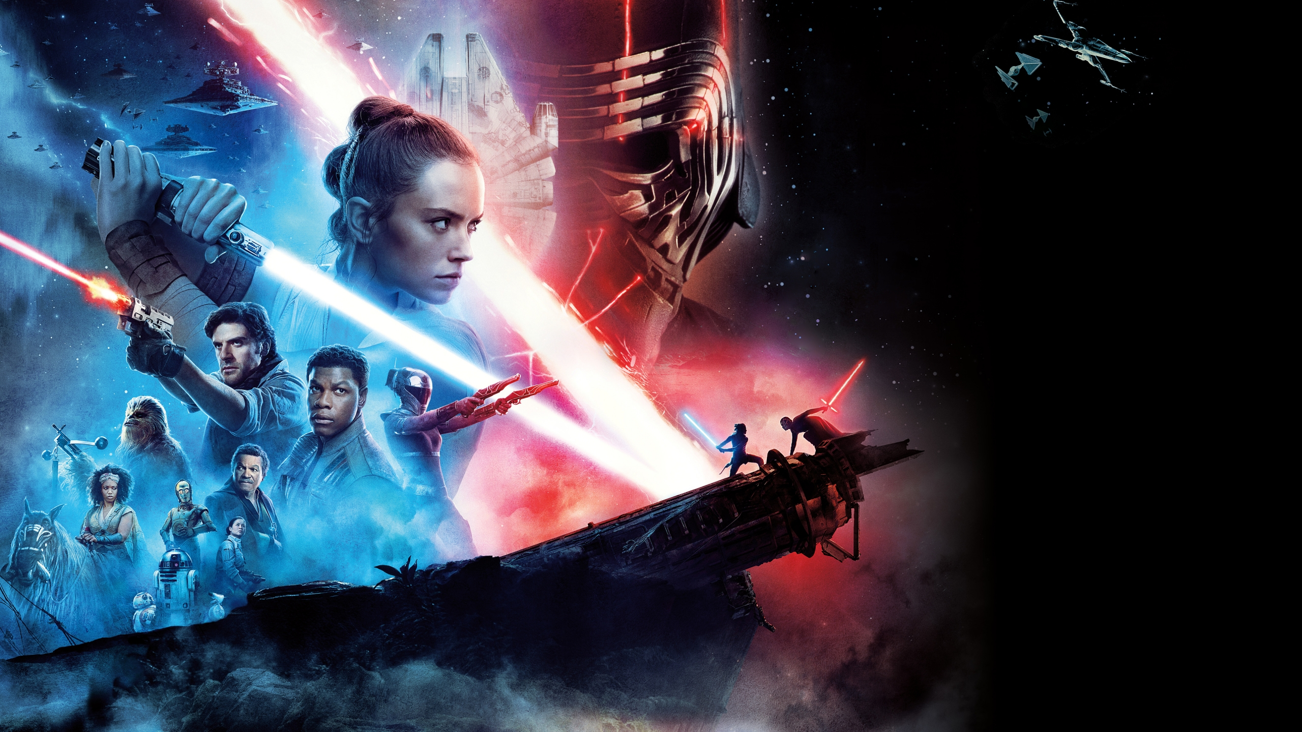 Image result for rise of skywalker wallpaper