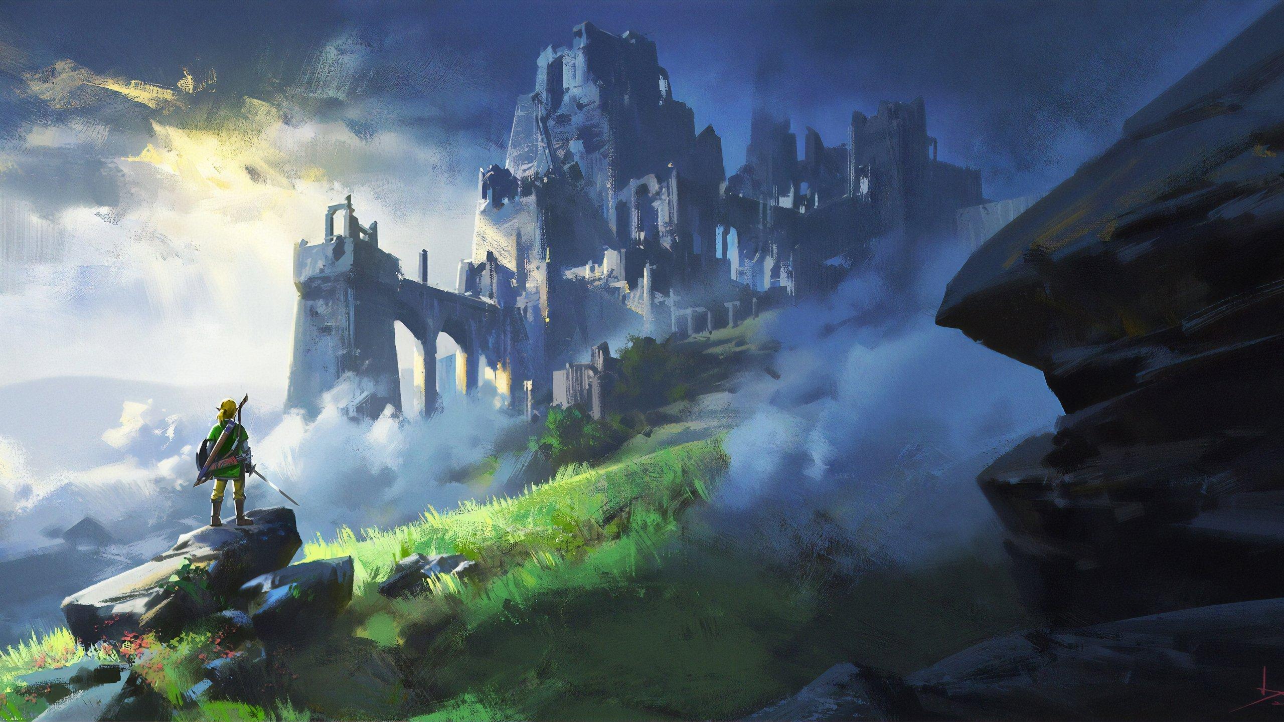 The Legend Of Zelda Breath Of The Wild Wallpaper 4k Ultra Hd Id 4065