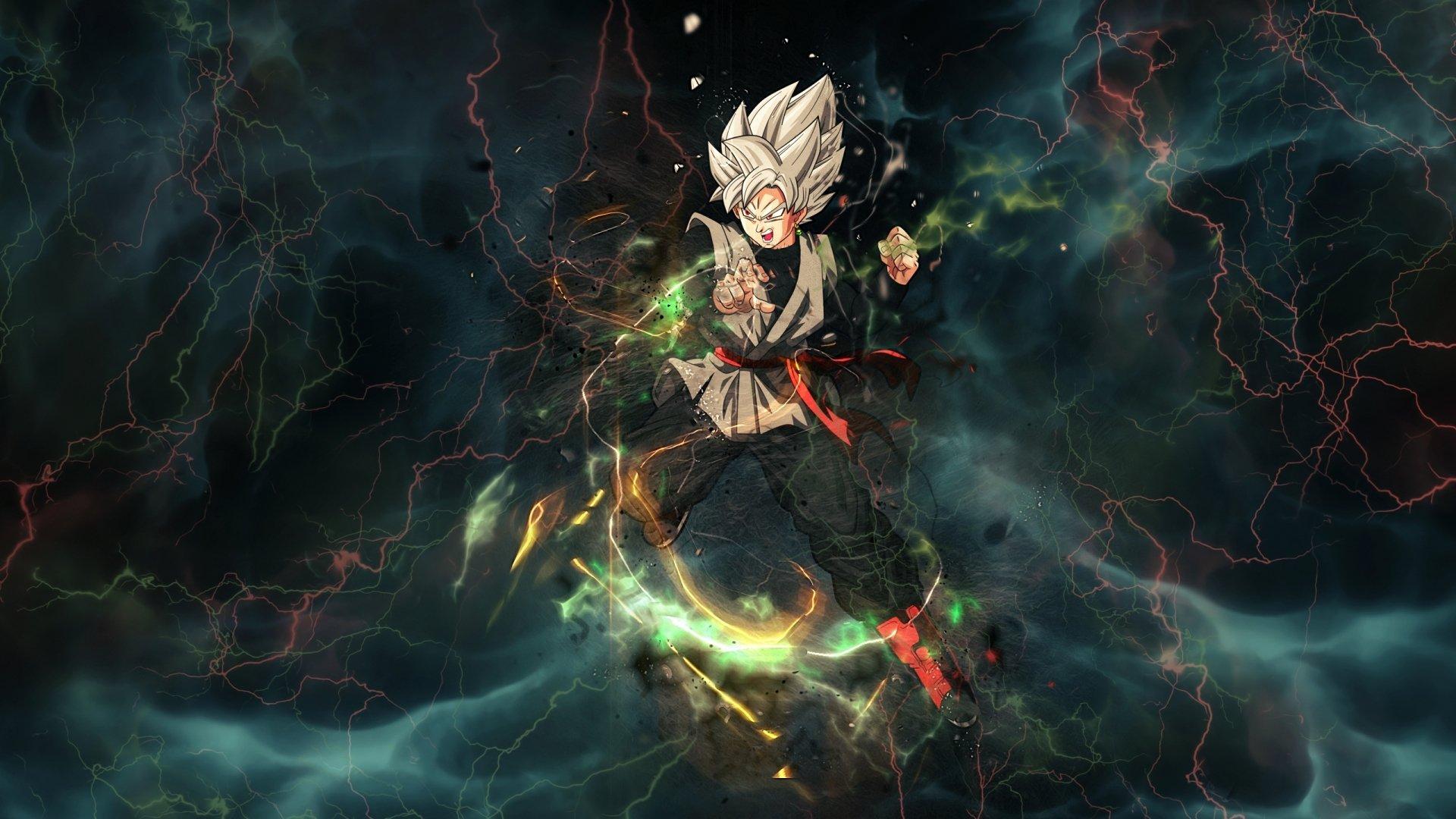 Thunder Goku Black Dragon Ball Super Anime Wallpaper 2k Quad Hd Id 3226